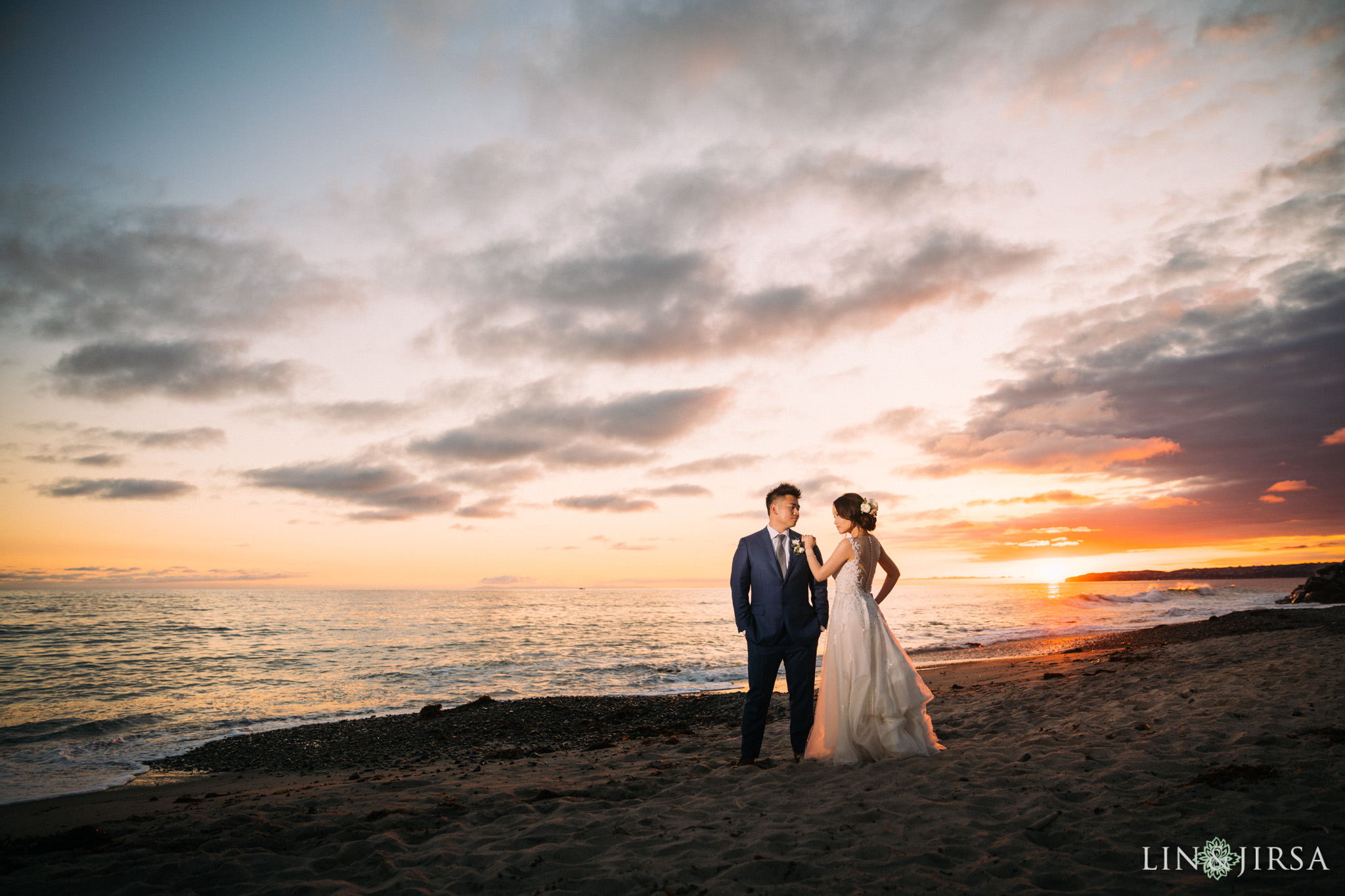 ole hanson beach club san clemente wedding sunset photography