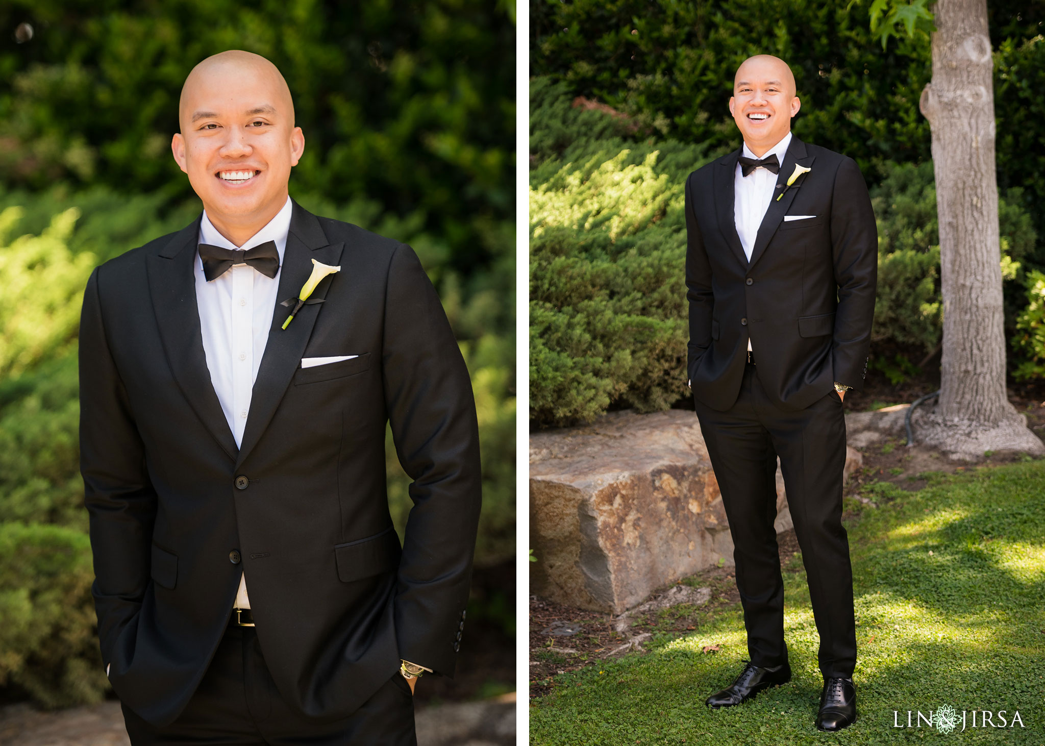 09 earl burns miller japanese gardens long beach groom wedding photography