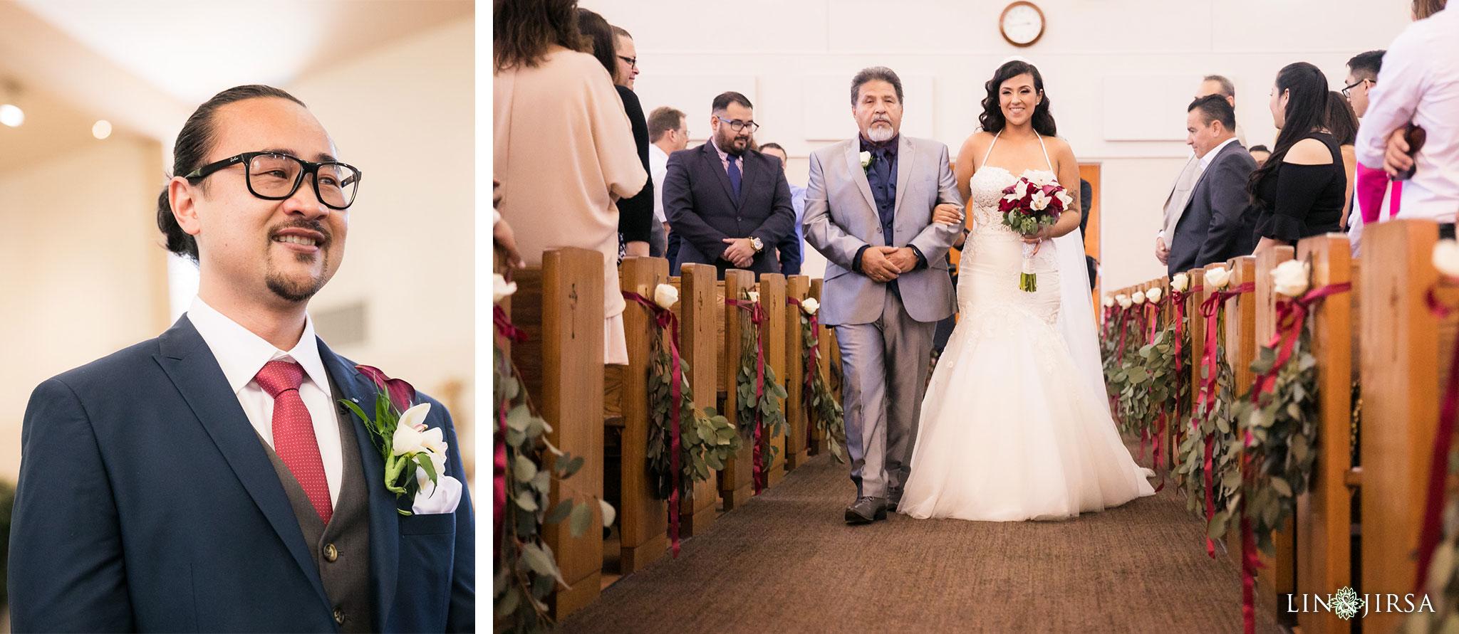 12 st anthony claret church orange county wedding ceremony photography
