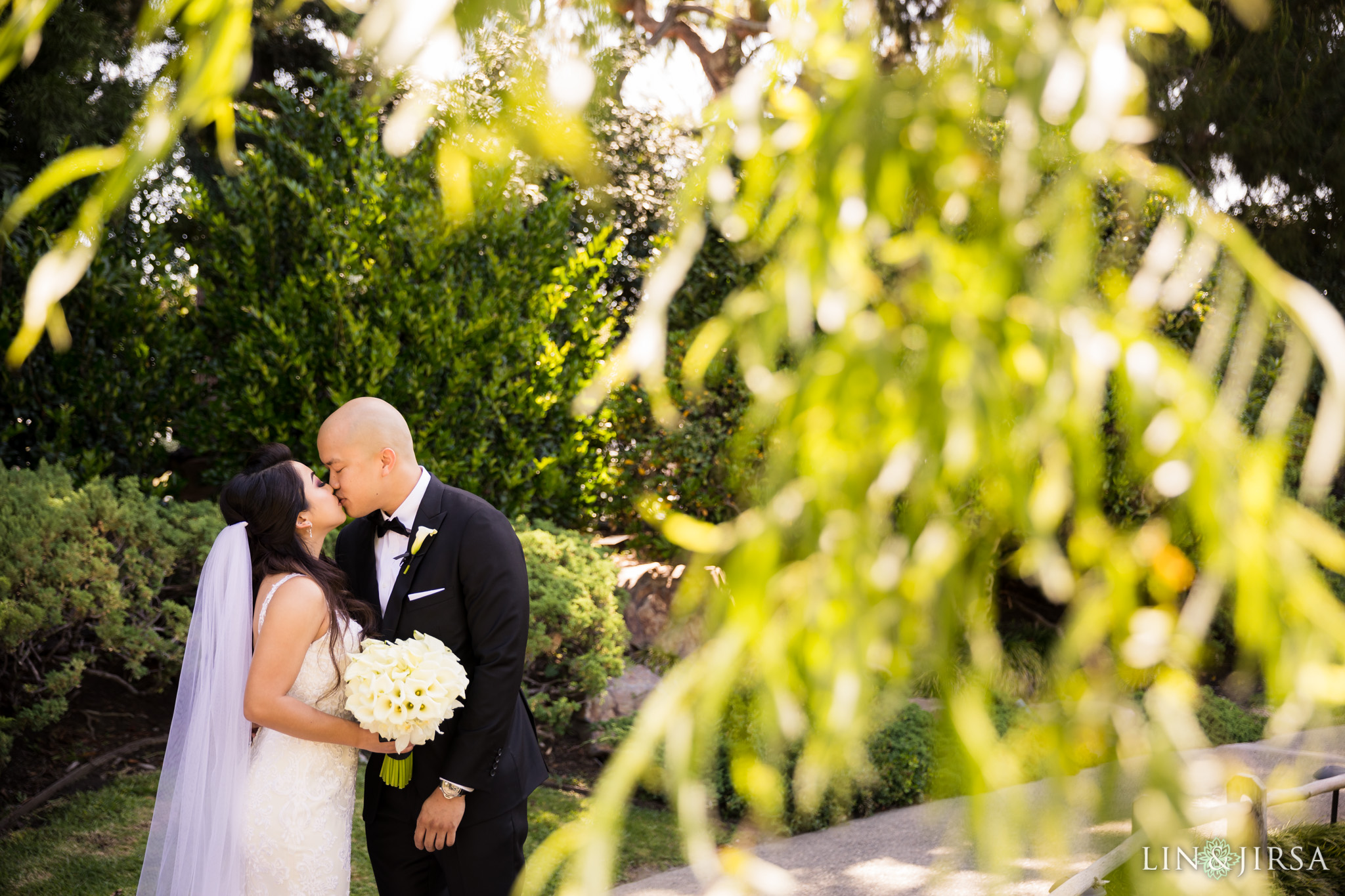 13 earl burns miller japanese gardens long beach wedding photography