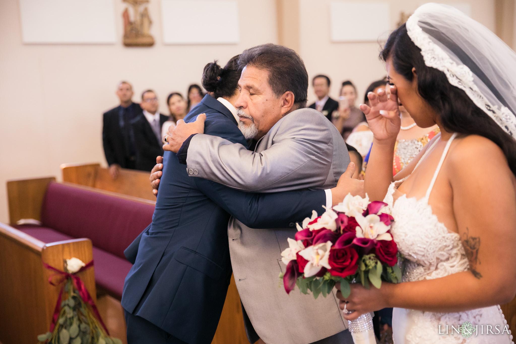 13 st anthony claret church orange county wedding ceremony photography
