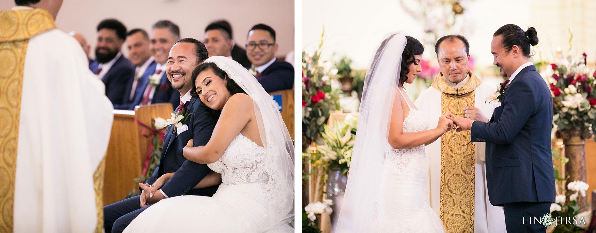 14 st anthony claret church orange county wedding ceremony photography