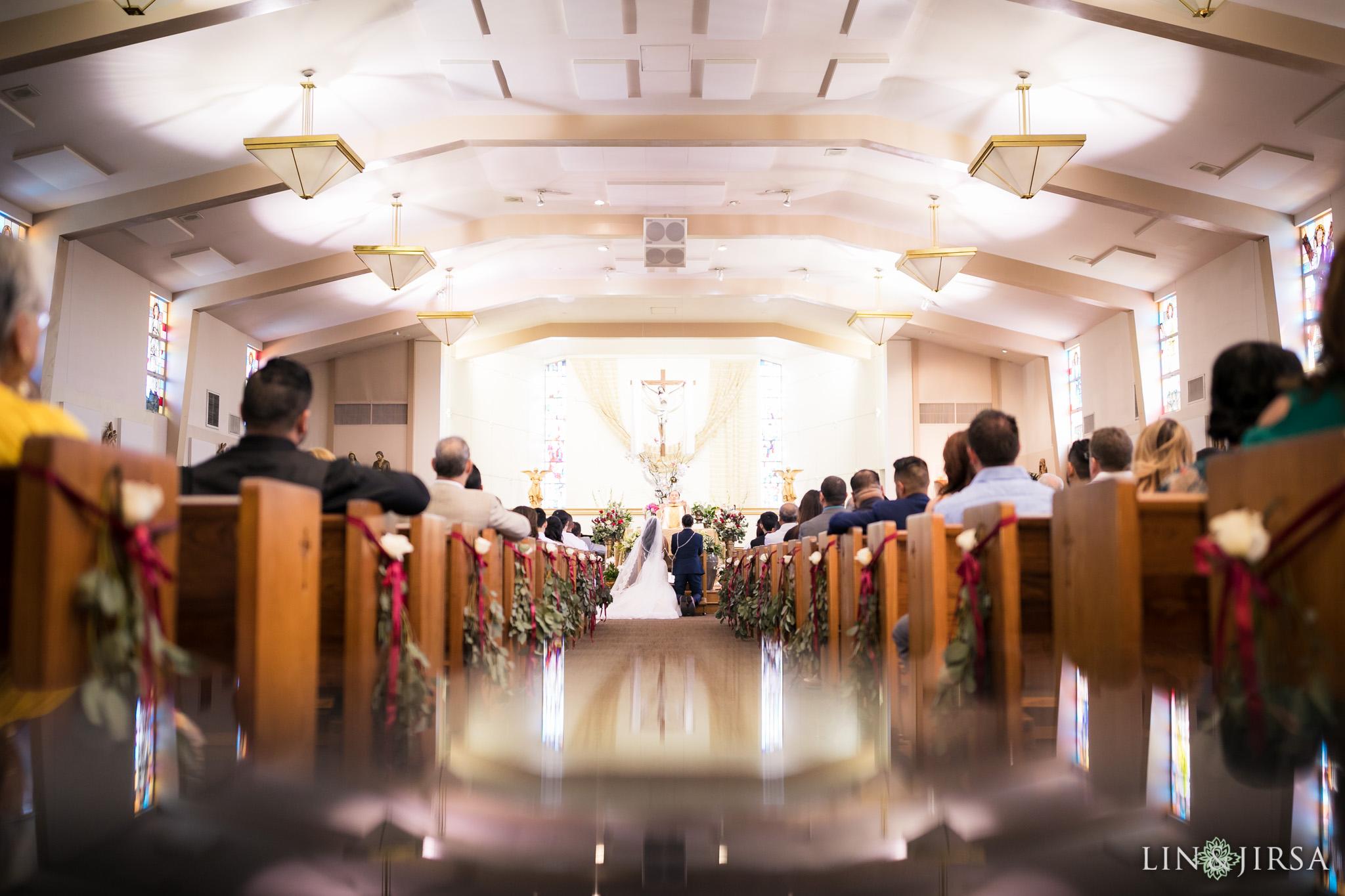15 st anthony claret church orange county wedding ceremony photography