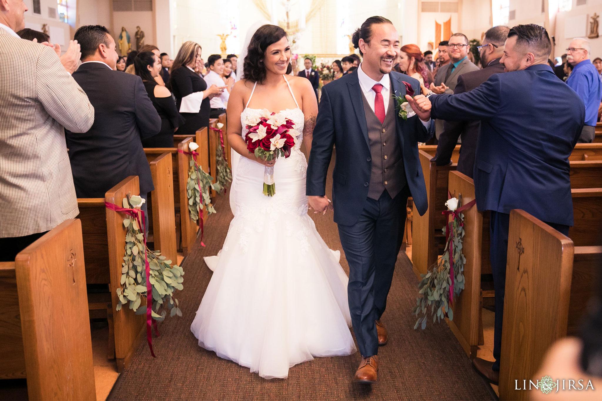 16 st anthony claret church orange county wedding ceremony photography