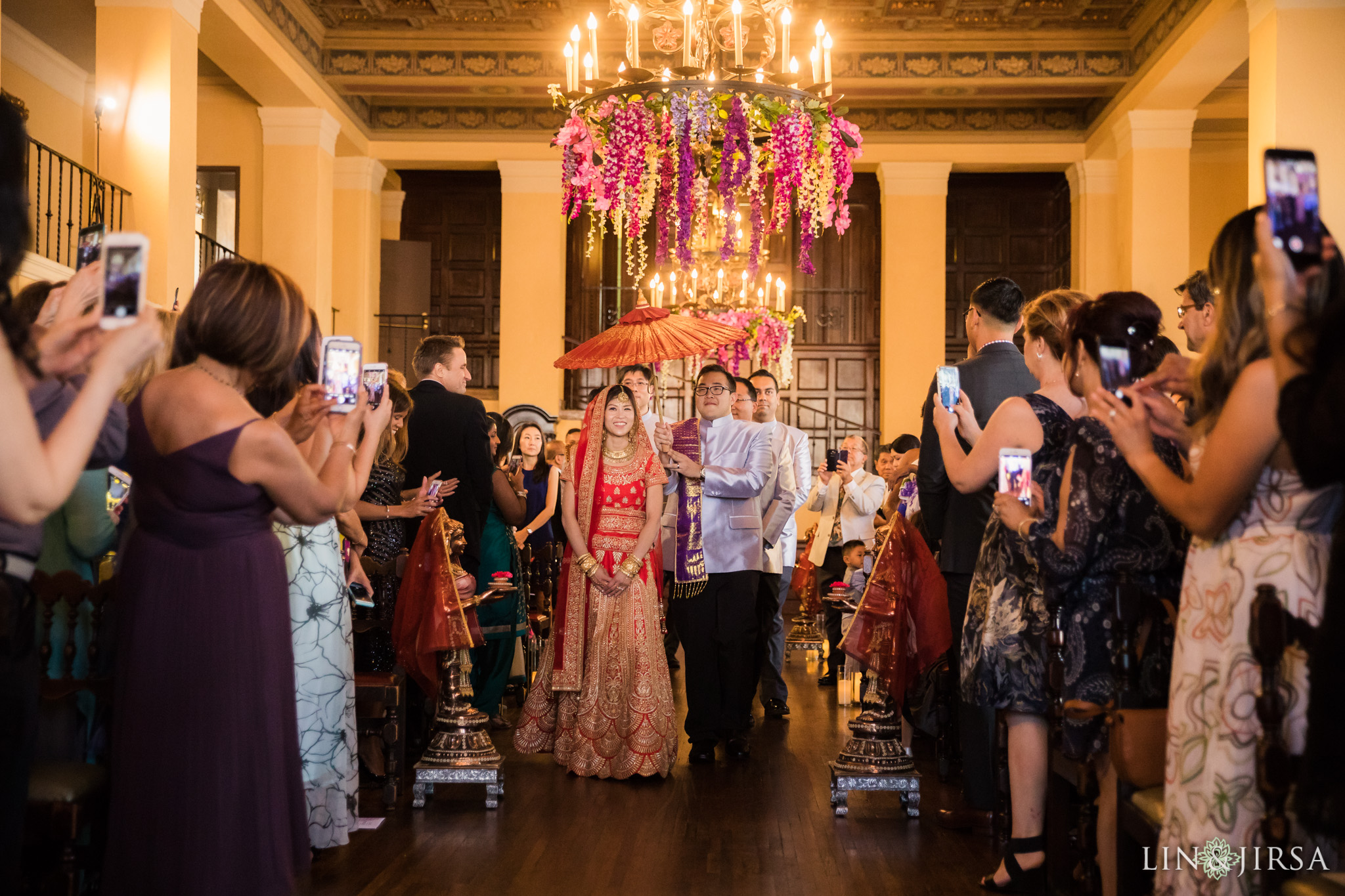 16 the ebell of los angeles indian wedding ceremony photography
