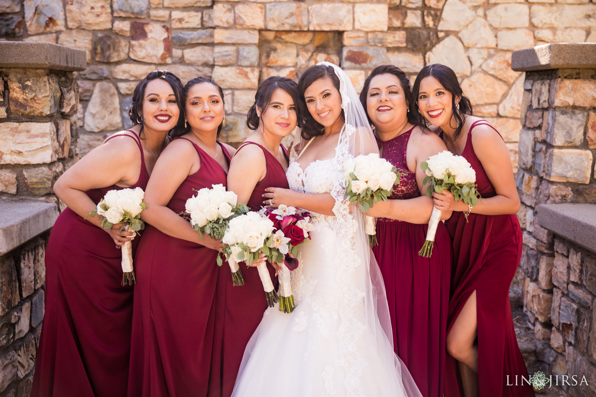 18 orange county wedding party photography