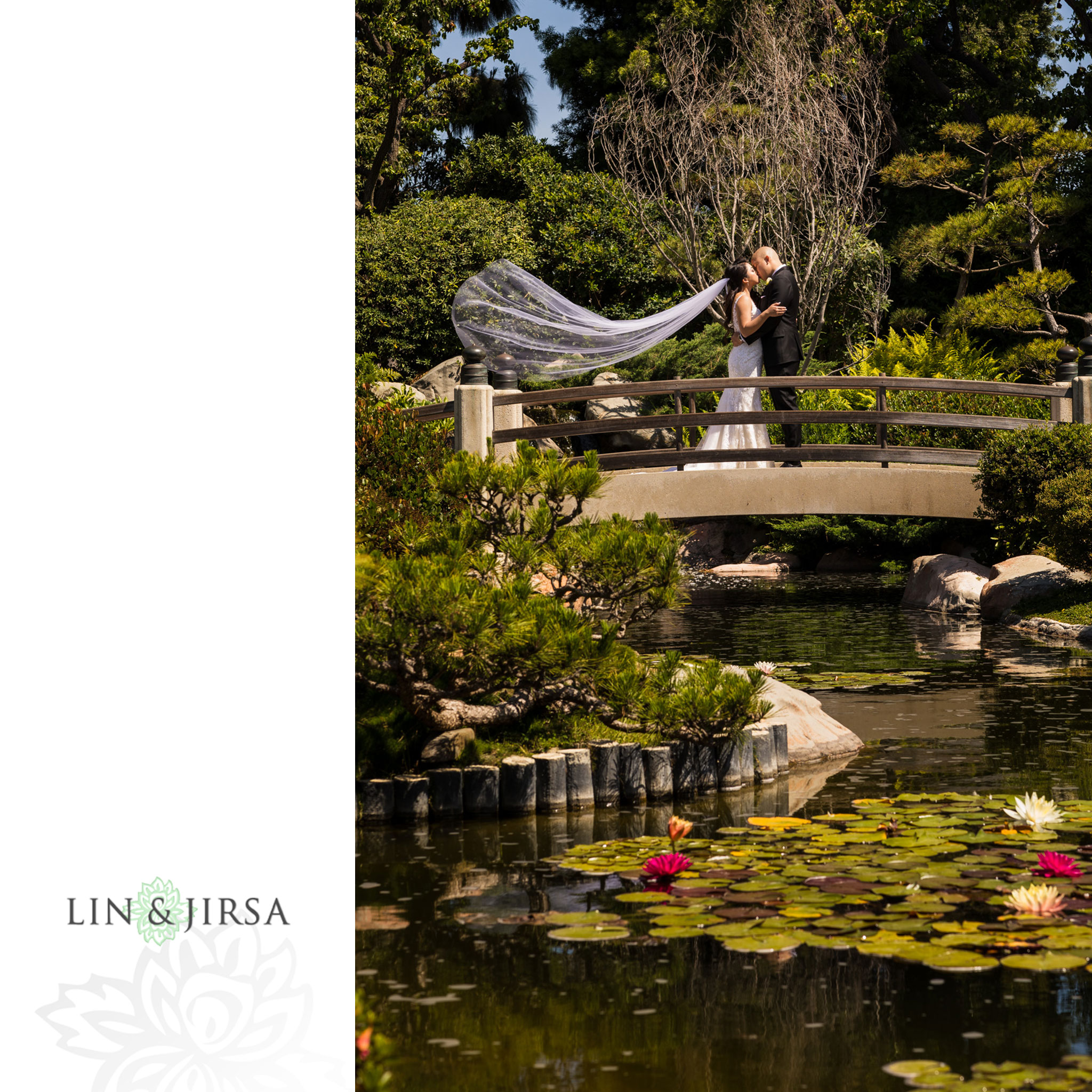 19 earl burns miller japanese gardens long beach wedding photography