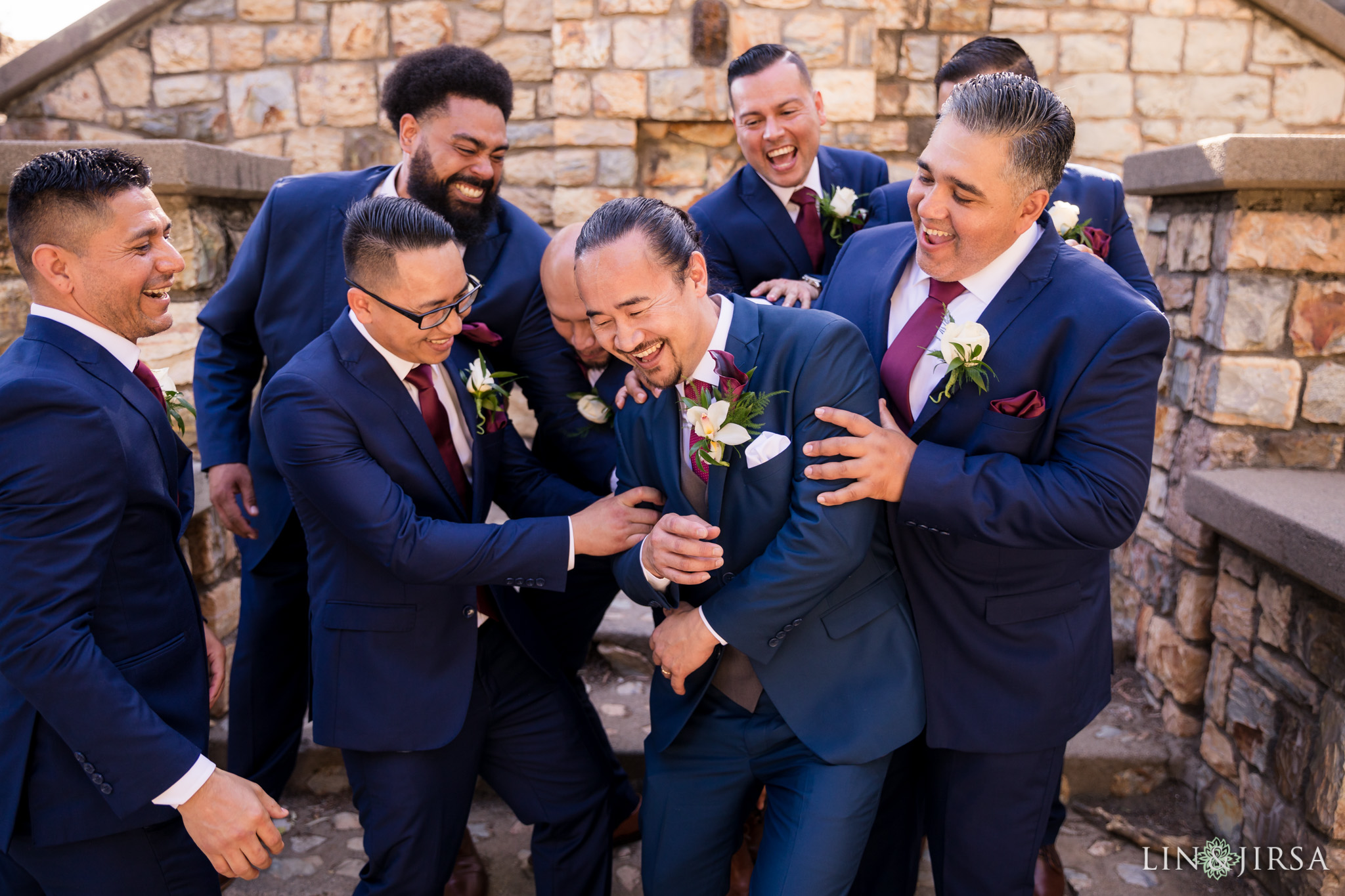 19 orange county wedding party photography