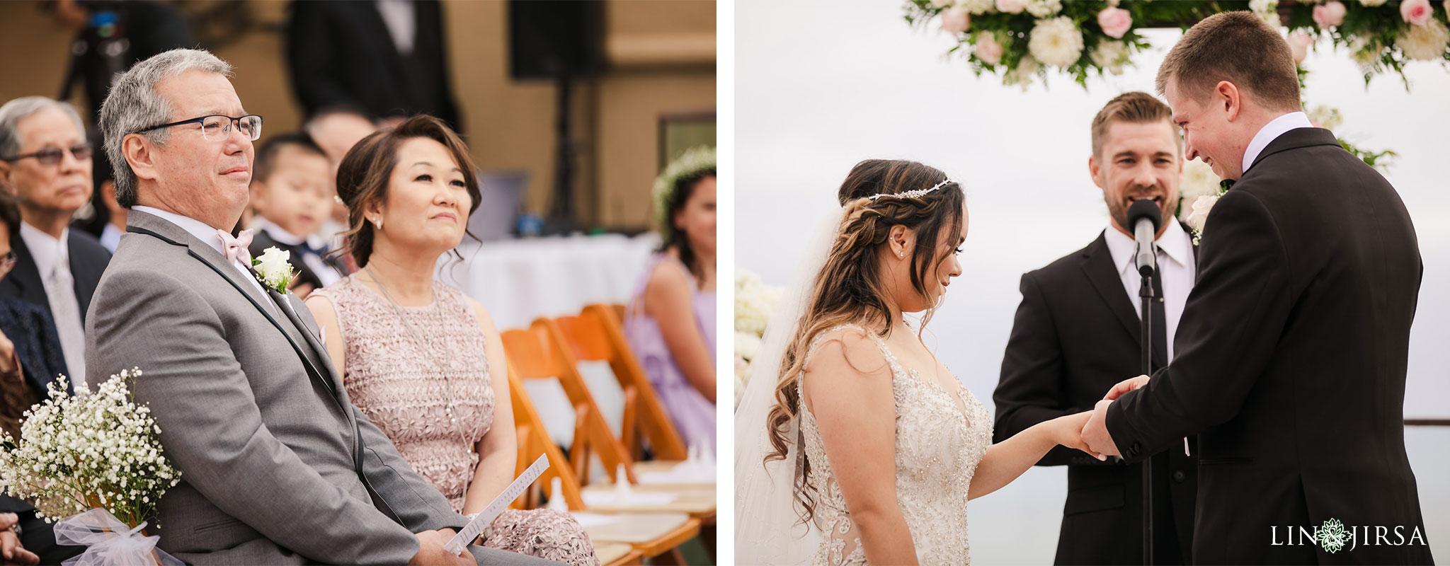 19 surf and sand resort laguna beach wedding ceremony photography