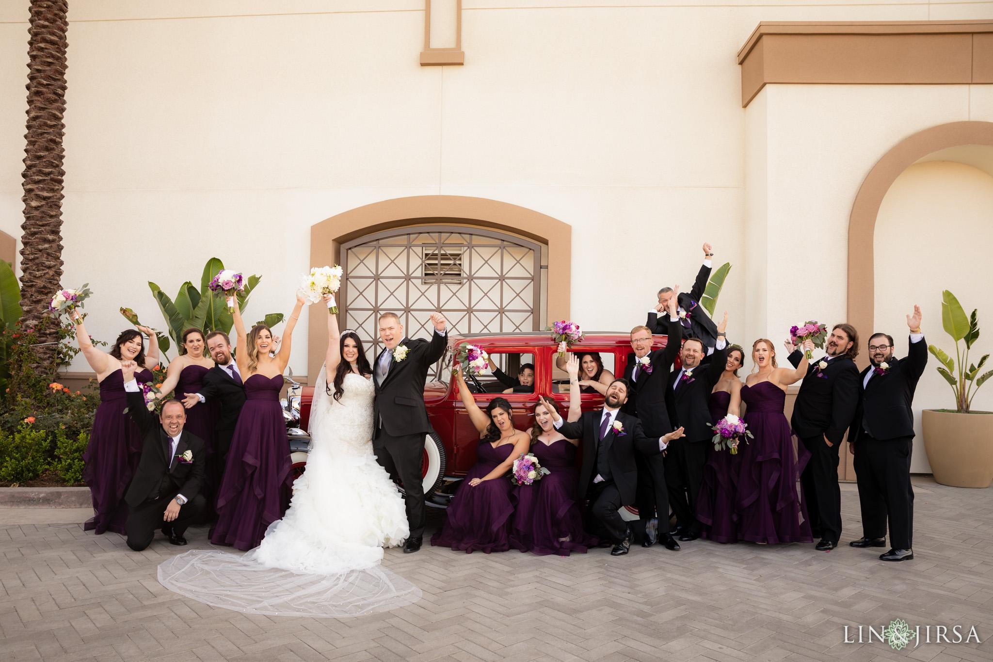 21 hilton waterfront beach resort wedding party photography