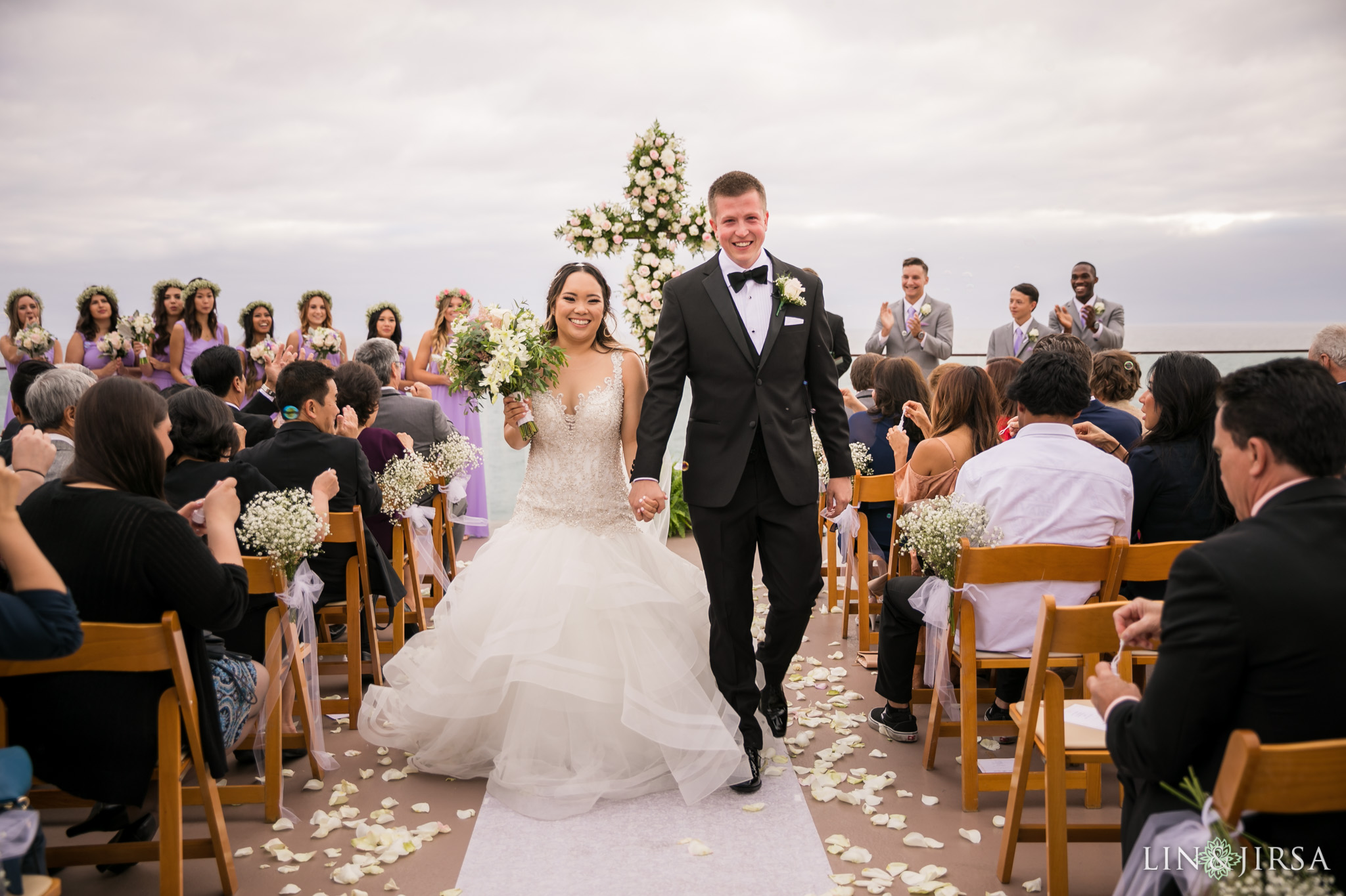 21 surf and sand resort laguna beach wedding ceremony photography