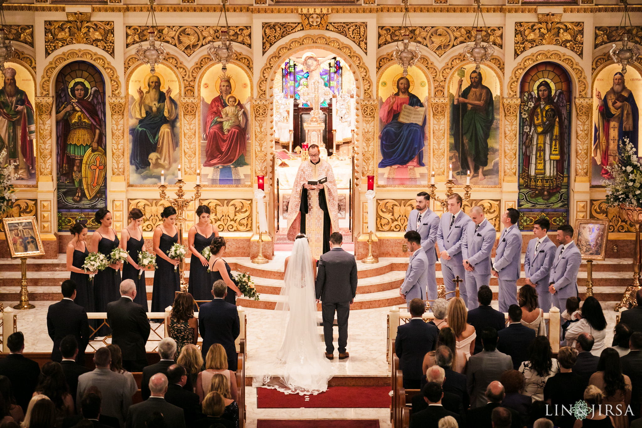 22 st sophia greek orthodox church los angeles wedding photography
