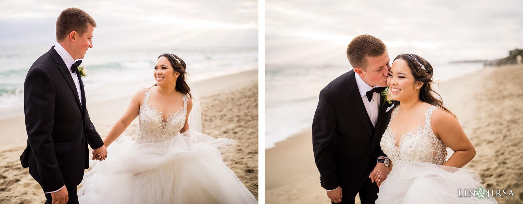 22 surf and sand resort laguna beach wedding photography