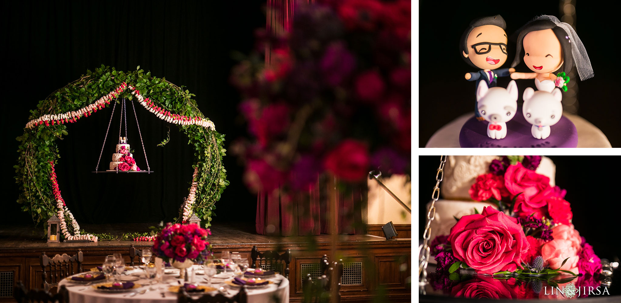 29 the ebell of los angeles indian wedding cake photography