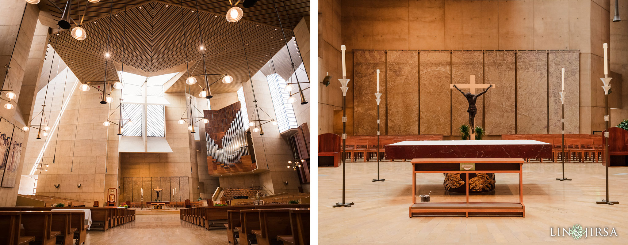 020 cathedral of our lady of angels los angeles wedding ceremony photography