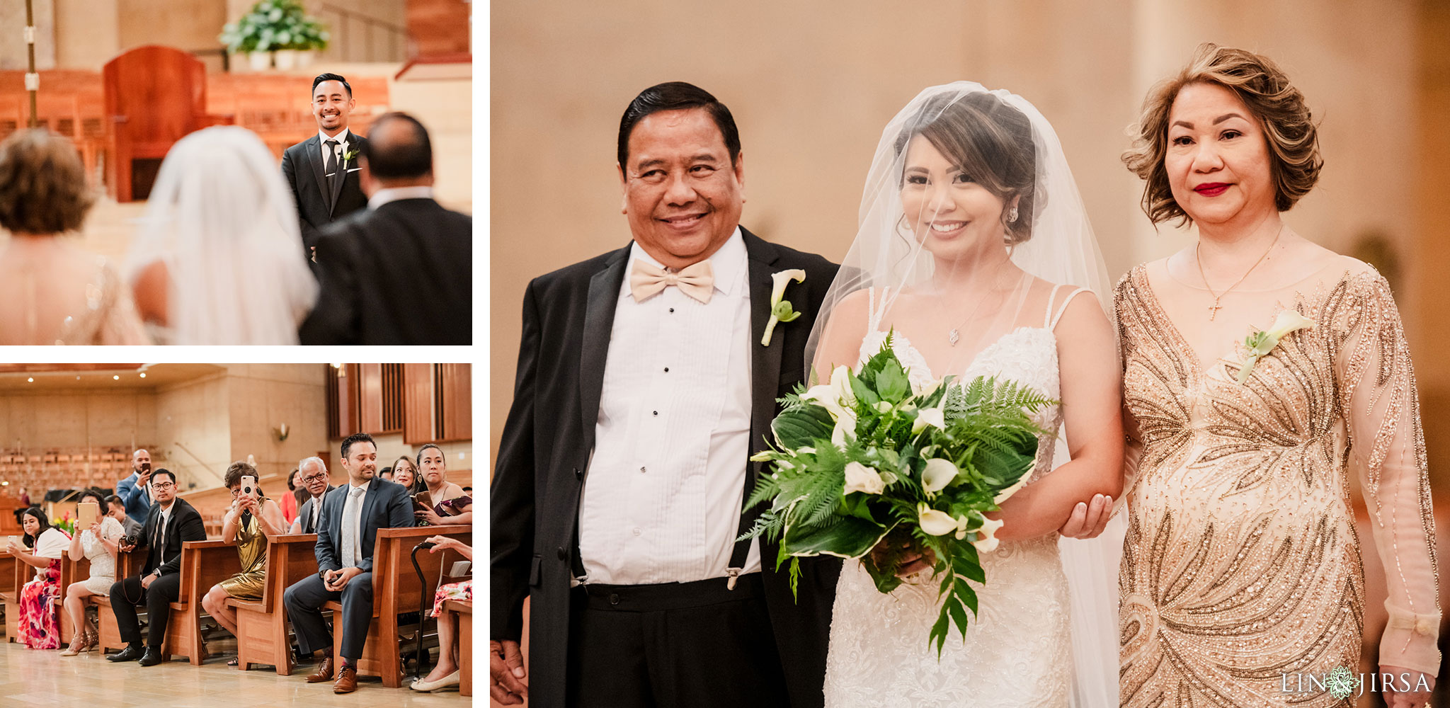 021 cathedral of our lady of angels los angeles wedding ceremony photography