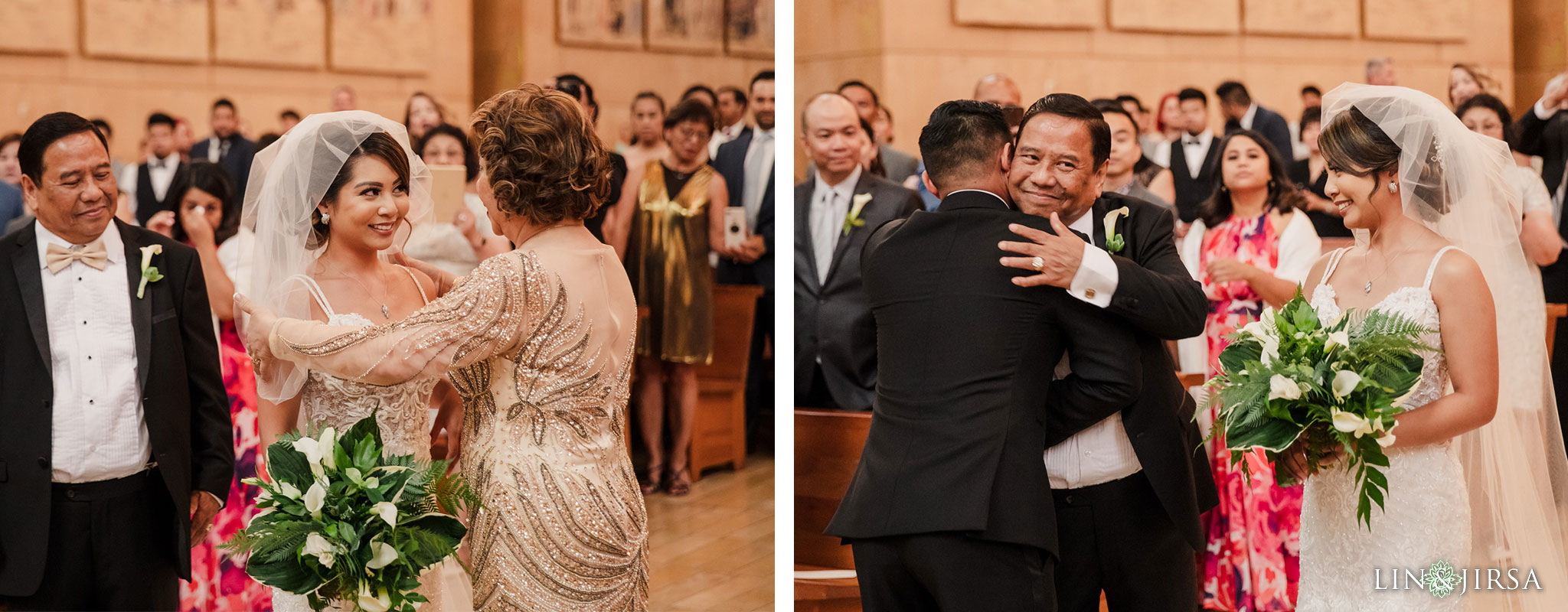 022 cathedral of our lady of angels los angeles wedding ceremony photography