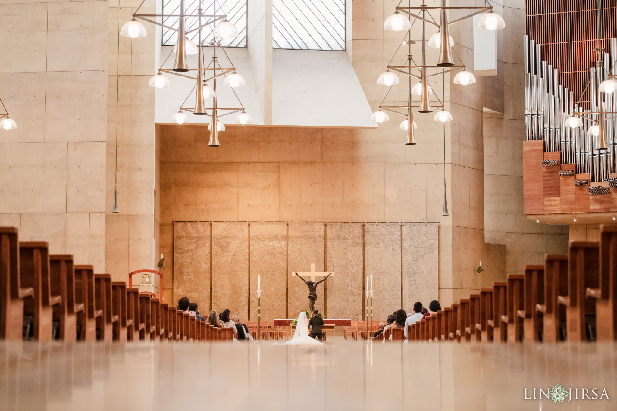 024 cathedral of our lady of angels los angeles wedding ceremony photography