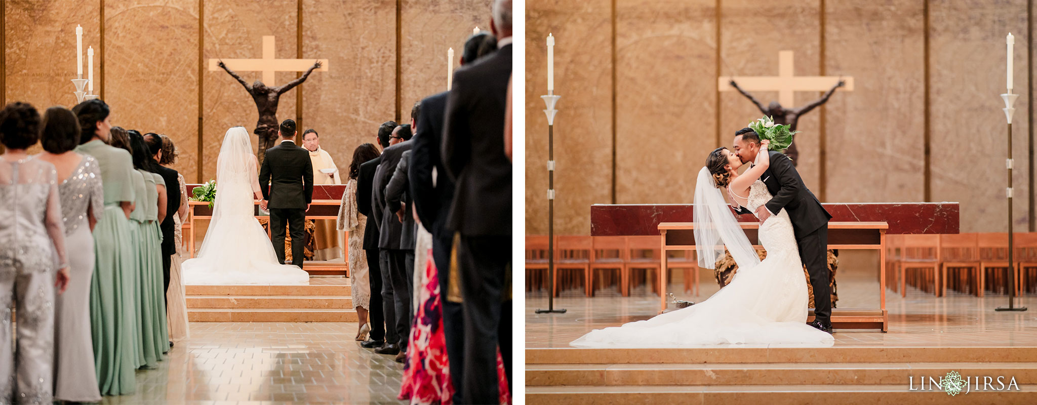 025 cathedral of our lady of angels los angeles wedding ceremony photography