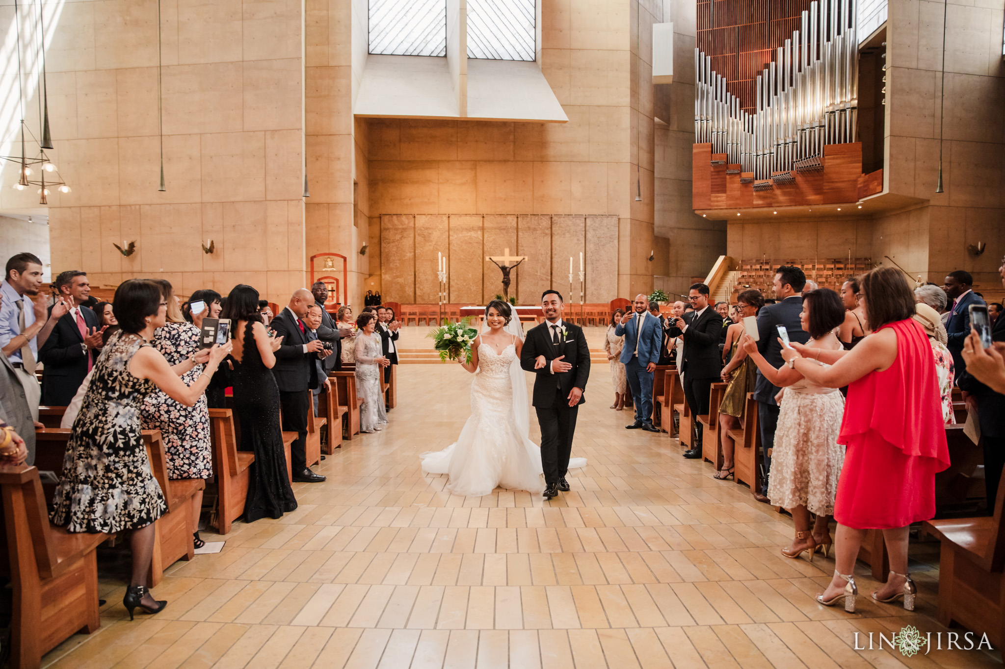 026 cathedral of our lady of angels los angeles wedding ceremony photography