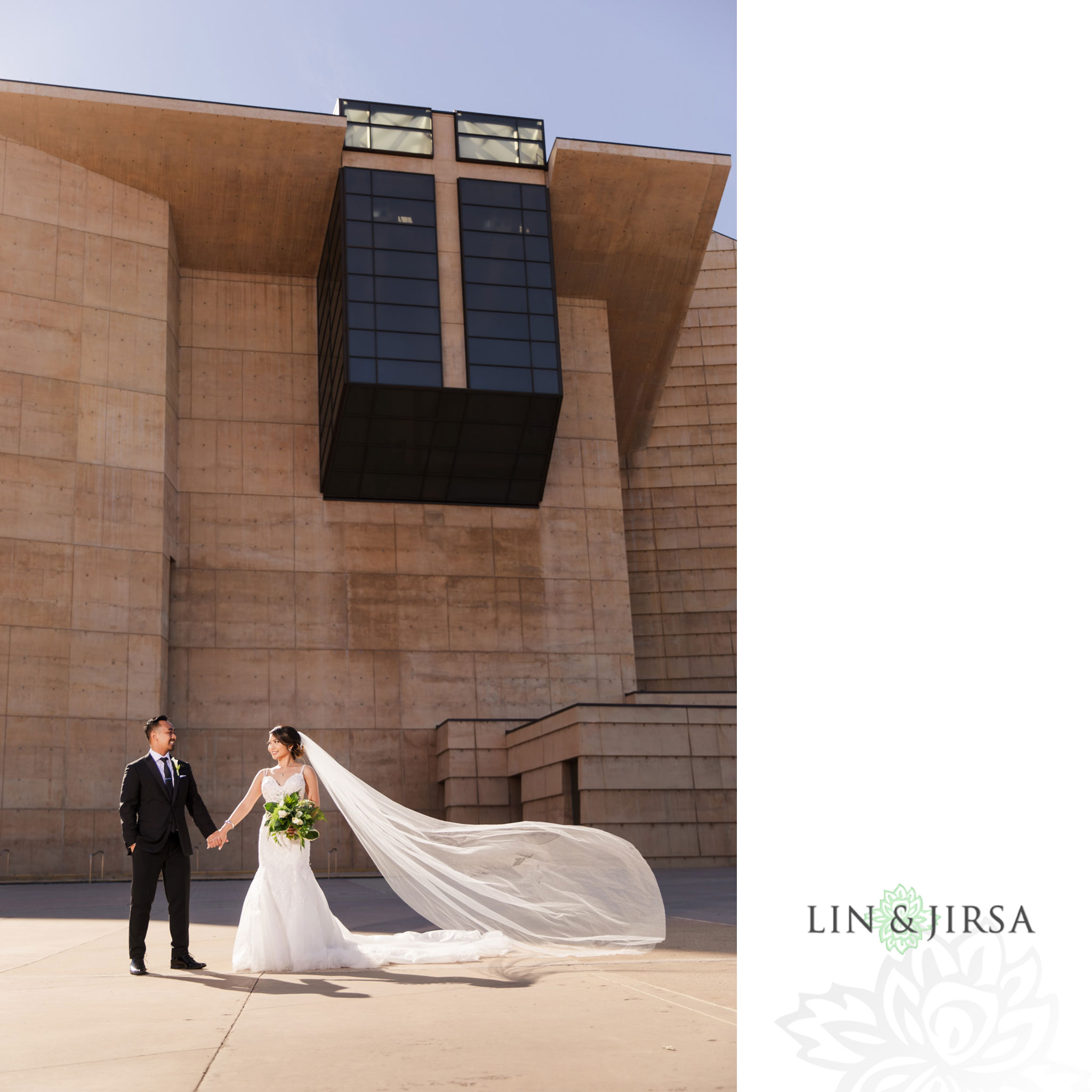 027 cathedral of our lady of angels los angeles wedding ceremony photography