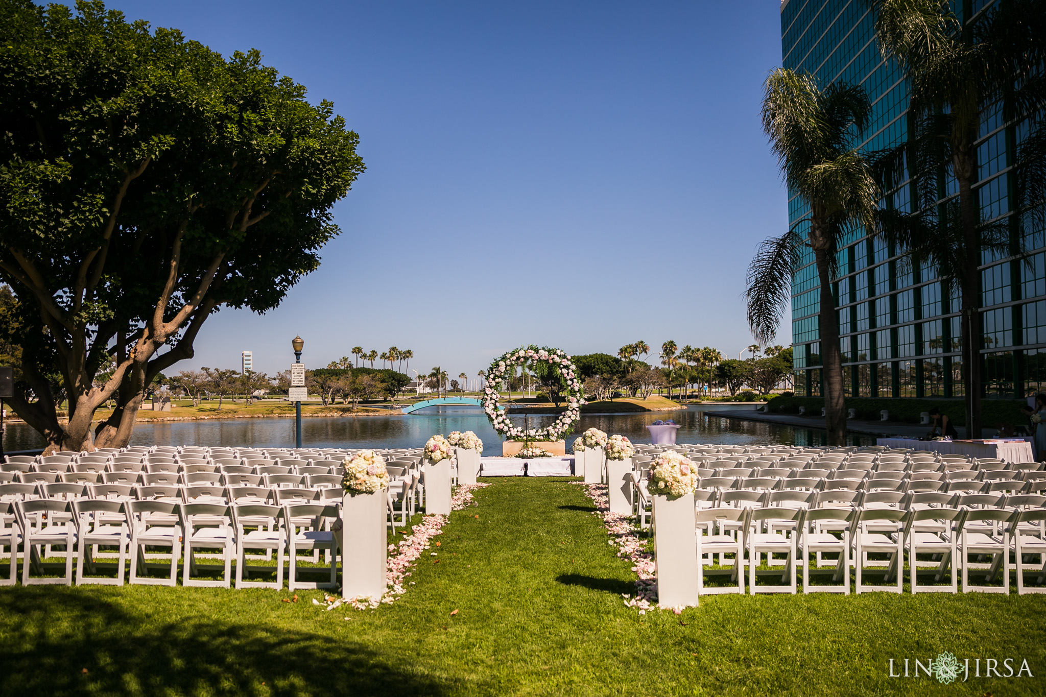 12 hyatt regency long beach wedding ceremony photography