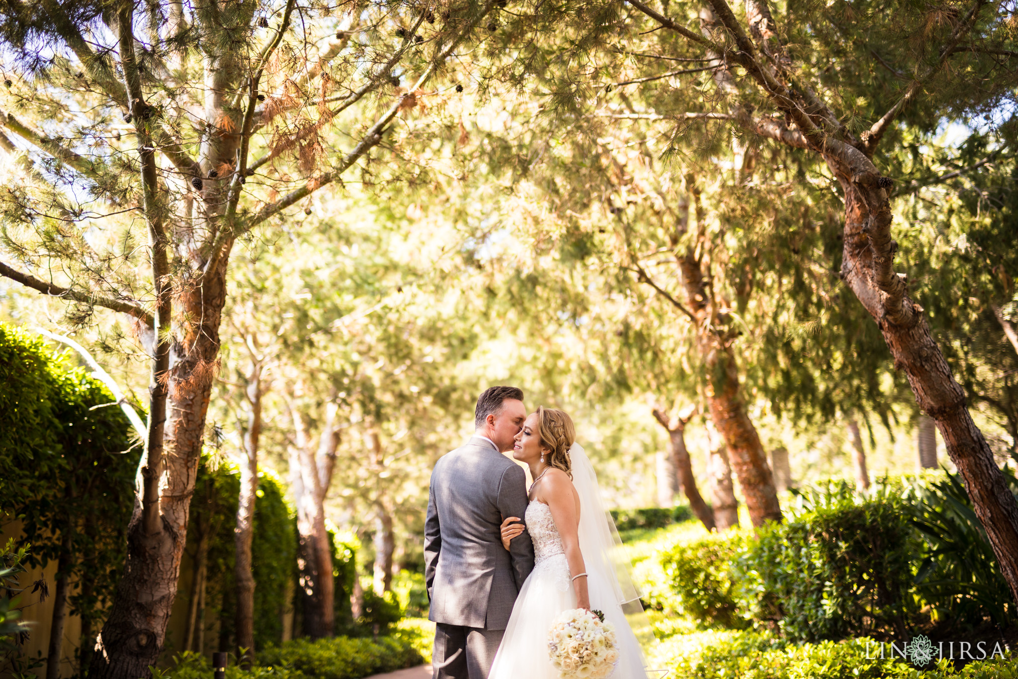 14 pelican hill resort newport coast wedding bride groom photography