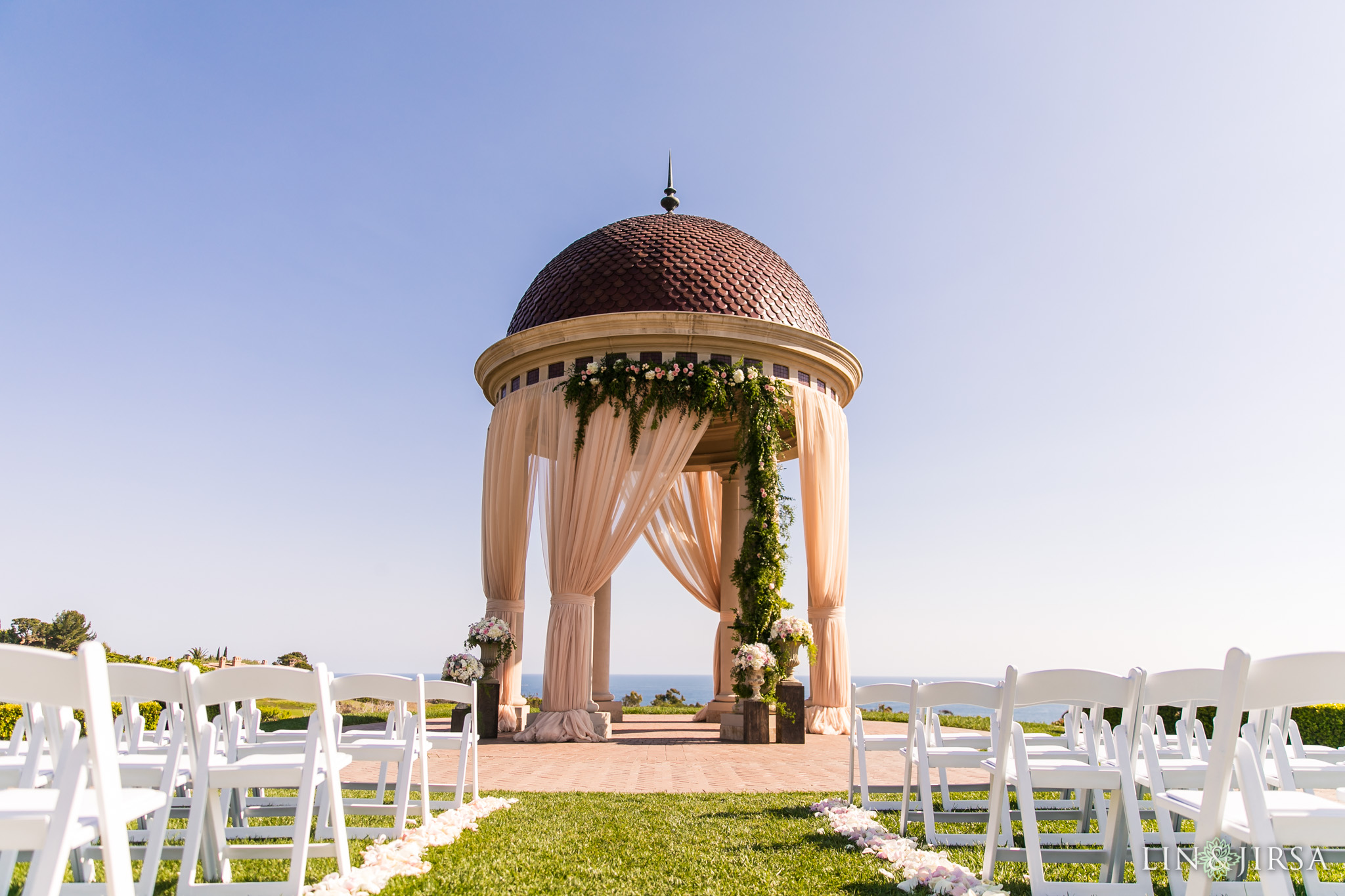 17 pelican hill resort newport coast wedding ceremony photography