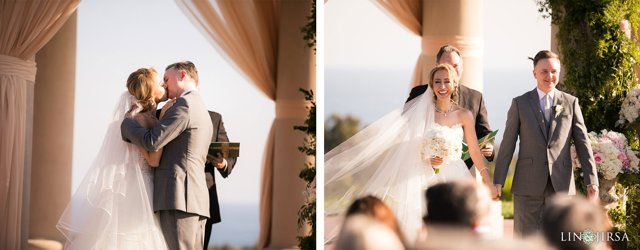 22 pelican hill resort newport coast wedding ceremony photography