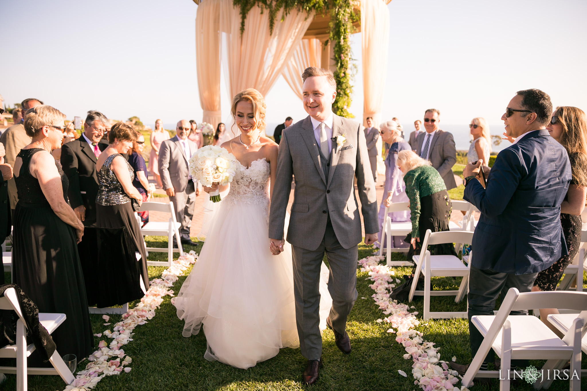 23 pelican hill resort newport coast wedding ceremony photography