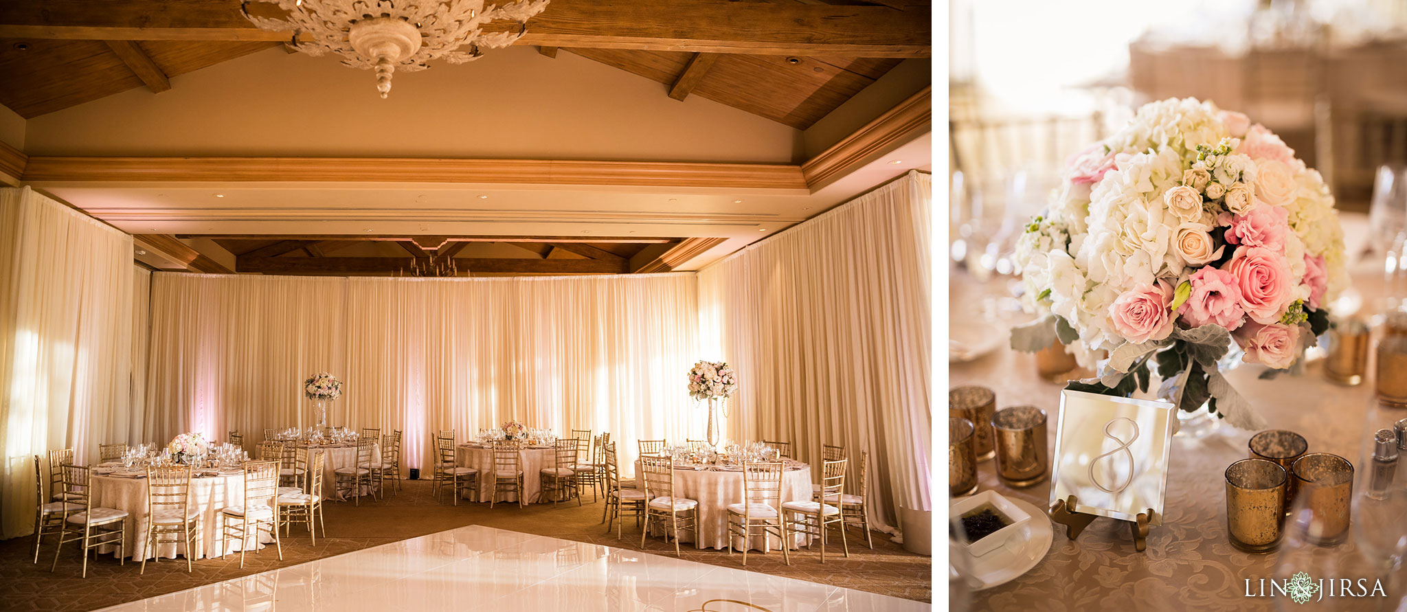 28 pelican hill resort newport coast wedding reception photography