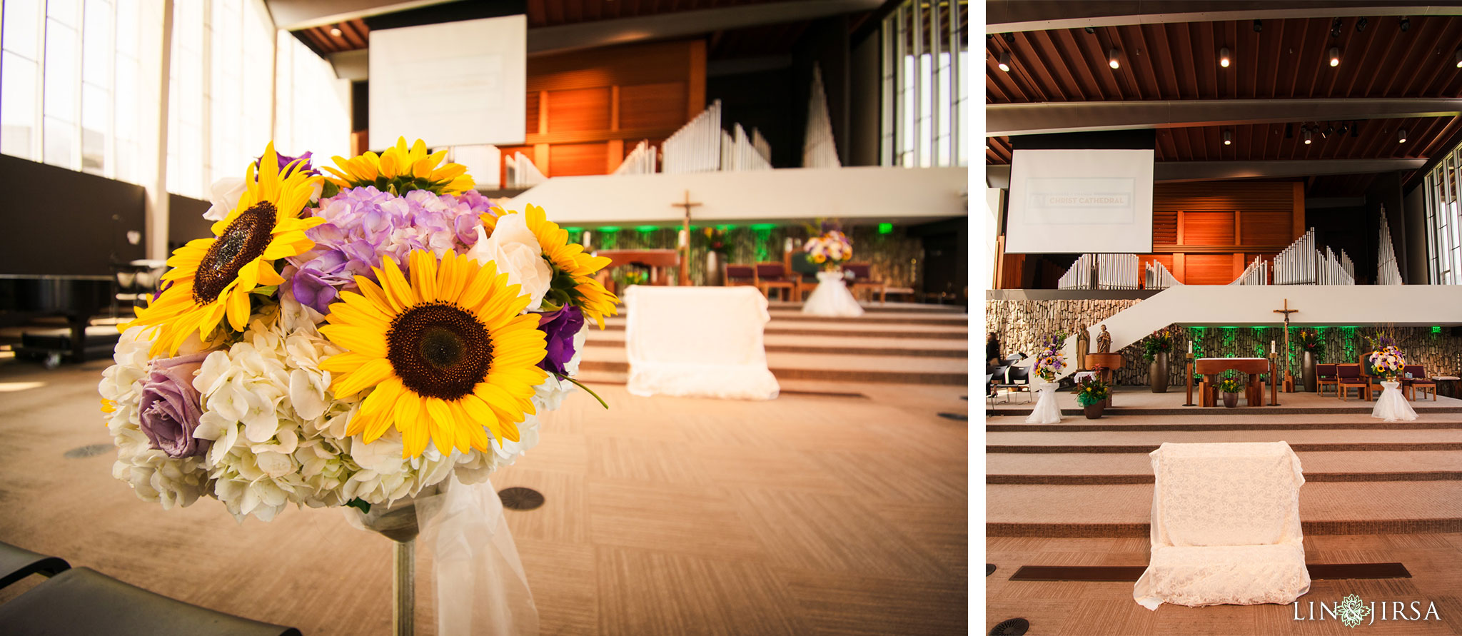 012 christ cathedral garden grove wedding ceremony photography