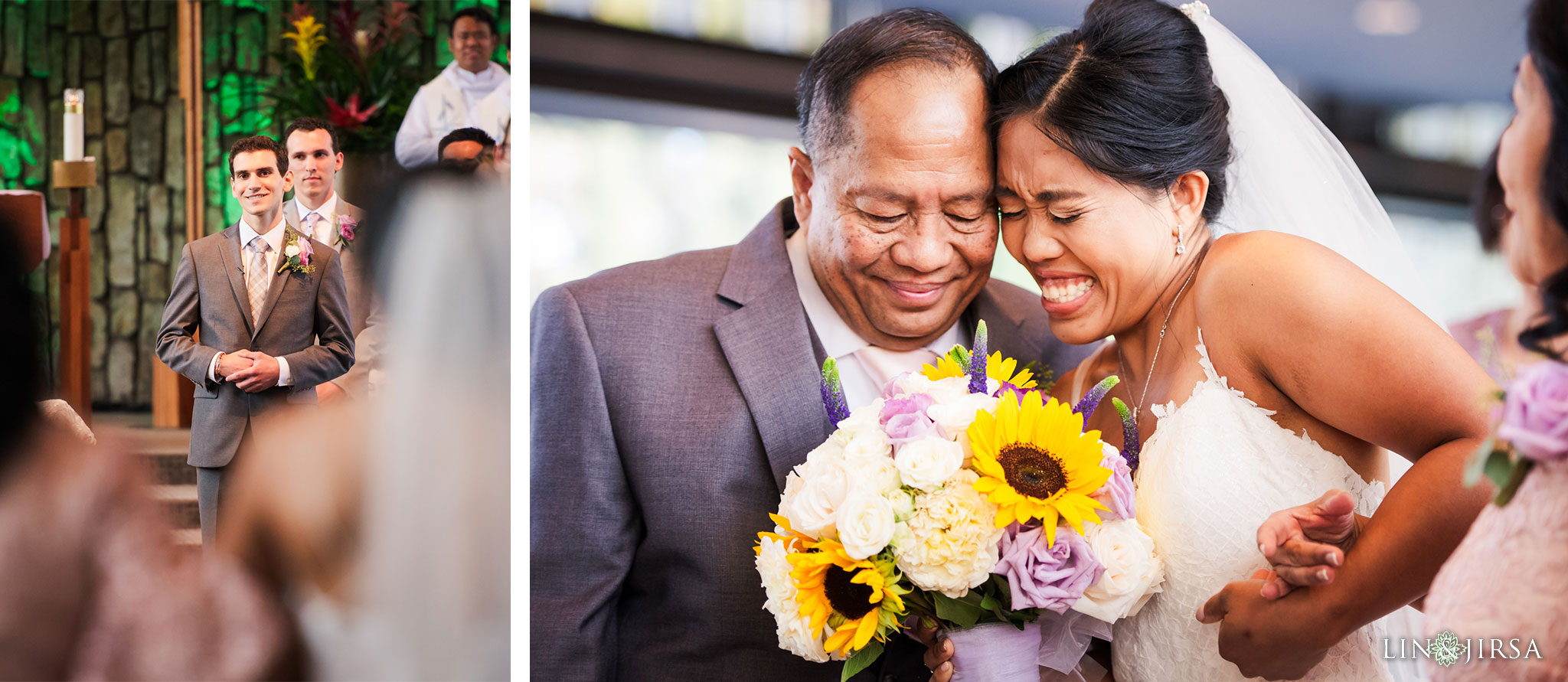014 christ cathedral garden grove wedding ceremony photography
