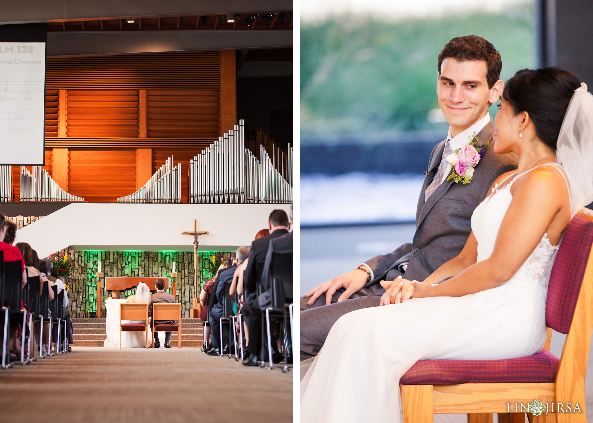 016 christ cathedral garden grove wedding ceremony photography