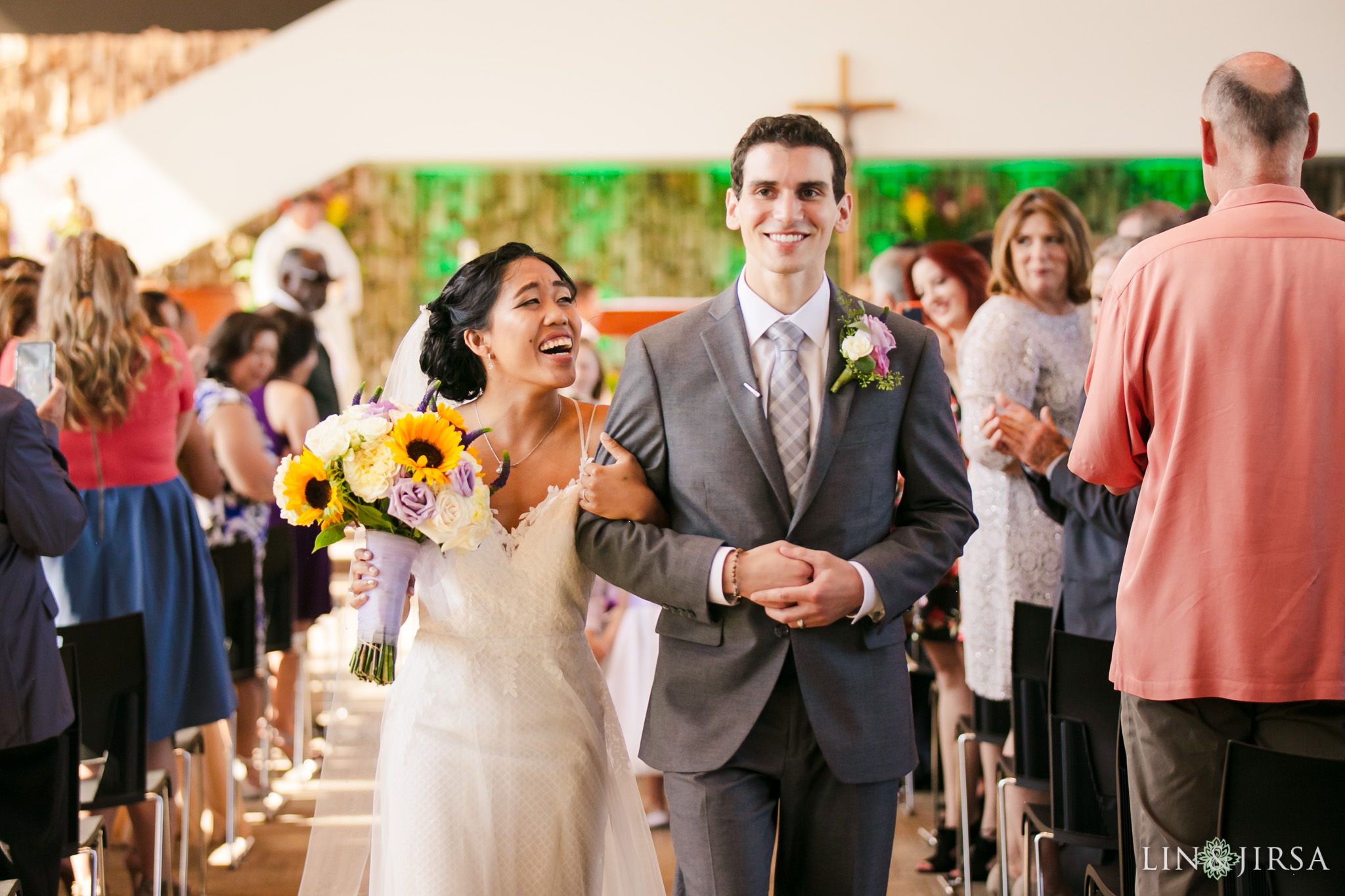 019 christ cathedral garden grove wedding ceremony photography