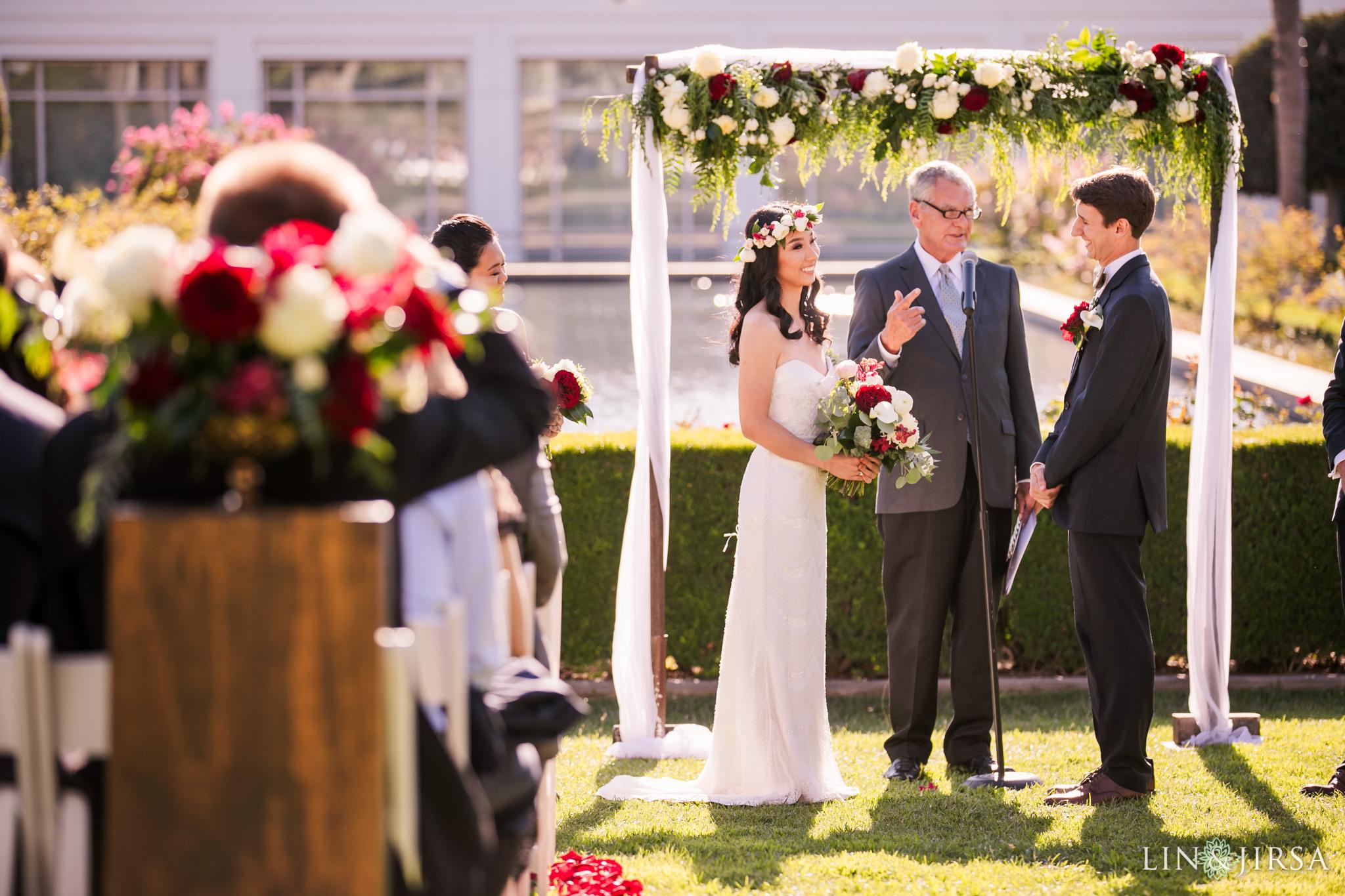 020 richard nixon library wedding ceremony photography 1