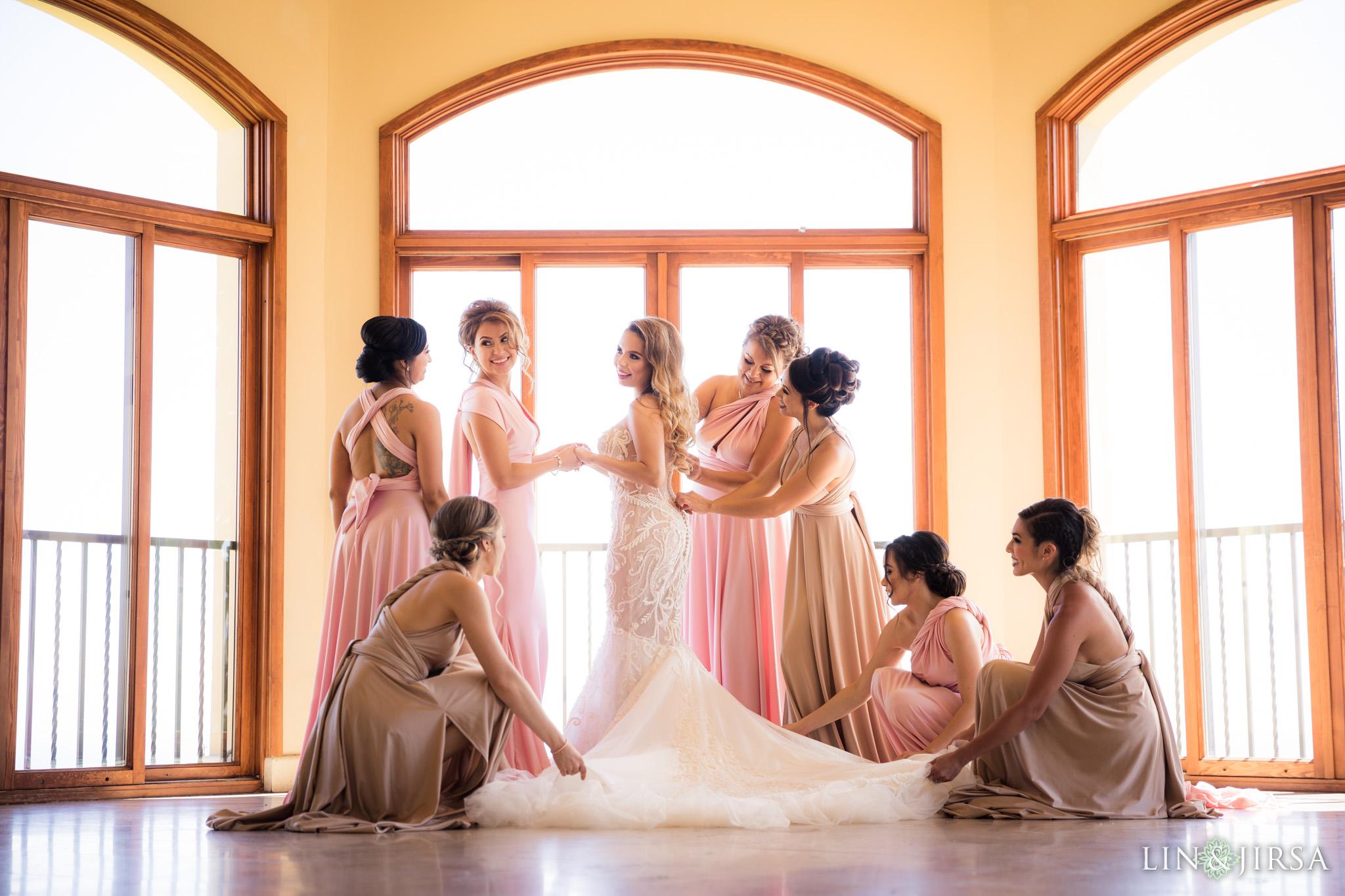 04 trump national golf club palos verdes bridesmaids wedding photography