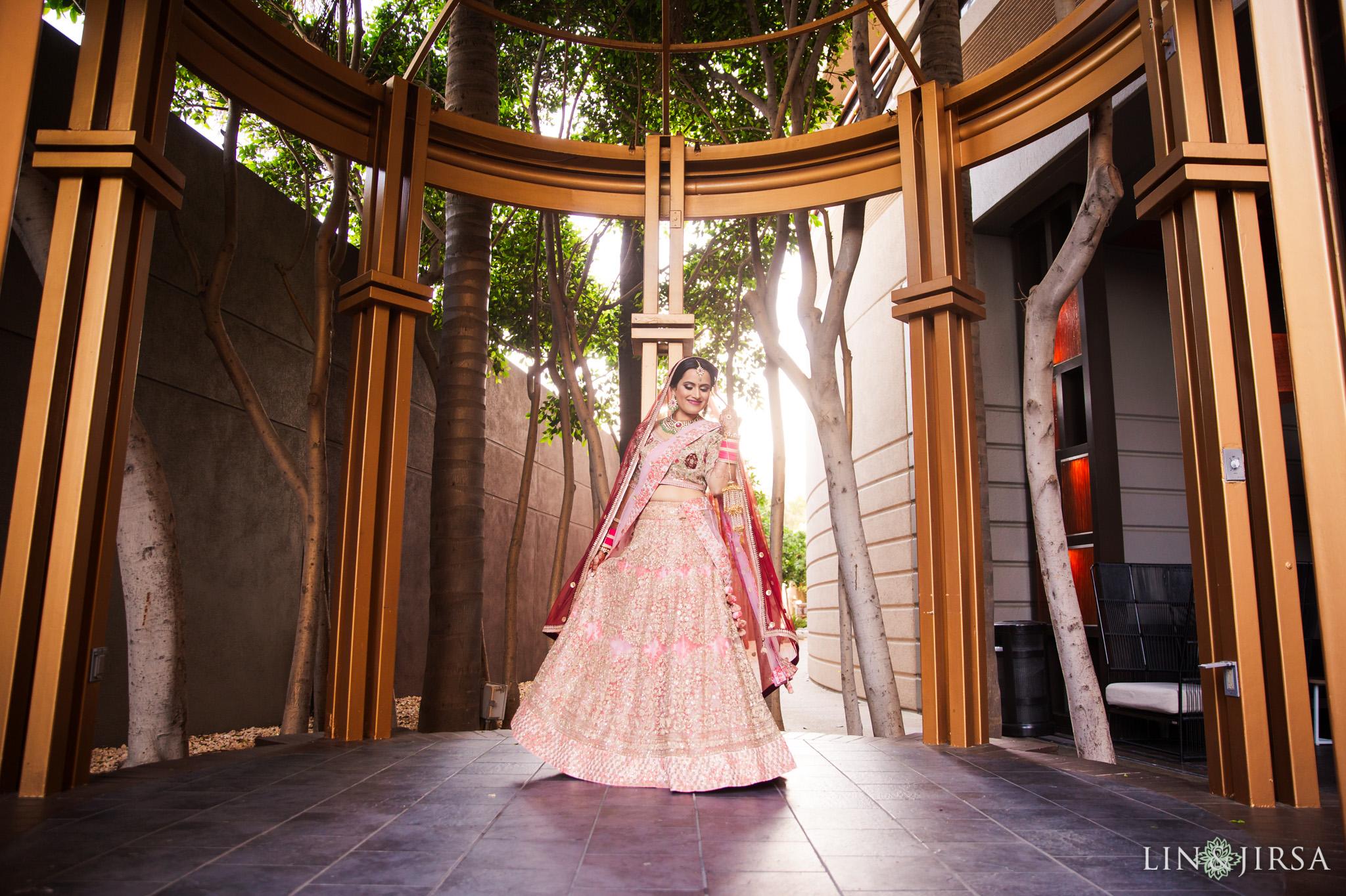 06 marina del rey marriott indian bride wedding photography
