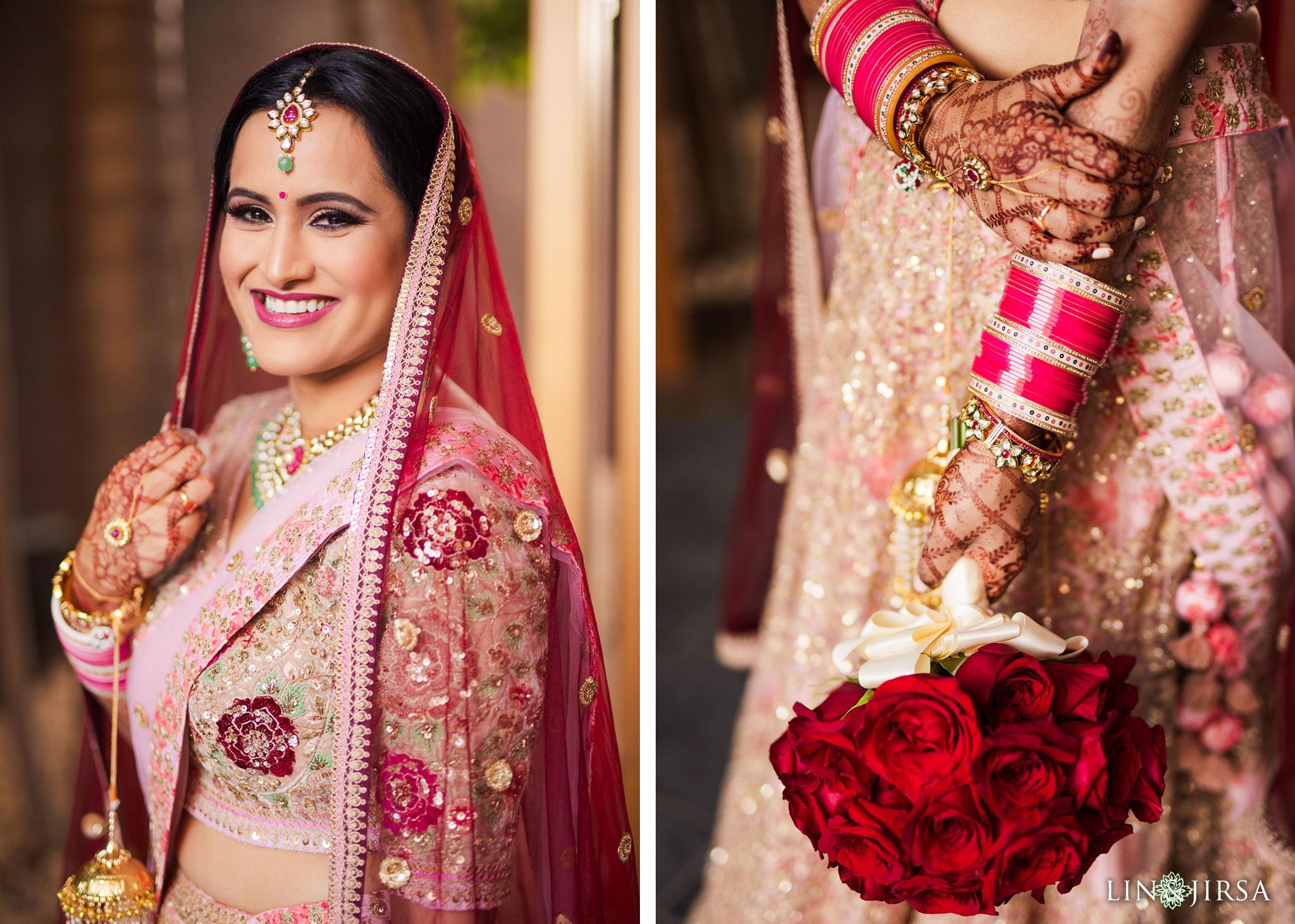 07 marina del rey marriott indian bride wedding photography
