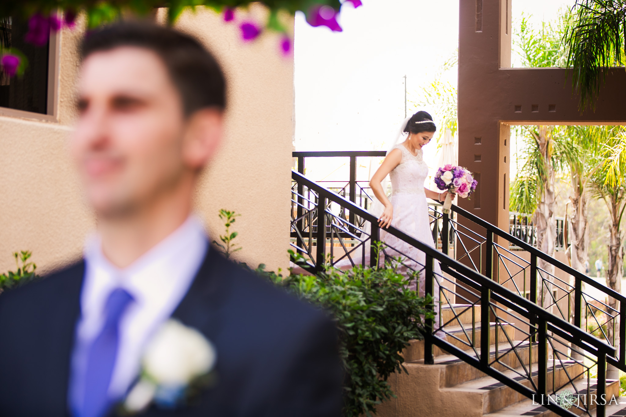 10 seacliff country club huntington beach wedding first look photography