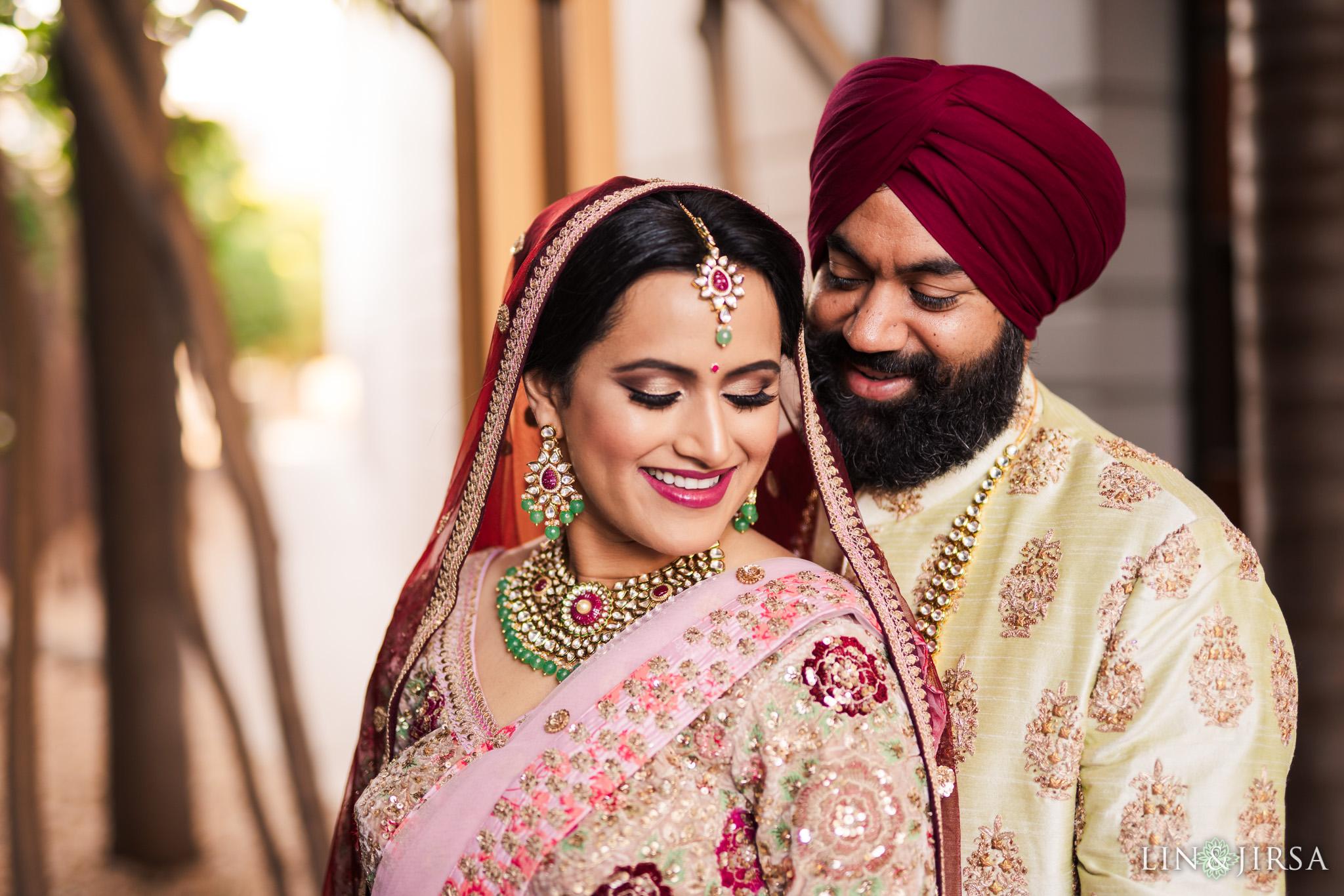 14 marina del rey marriott indian couple wedding photography