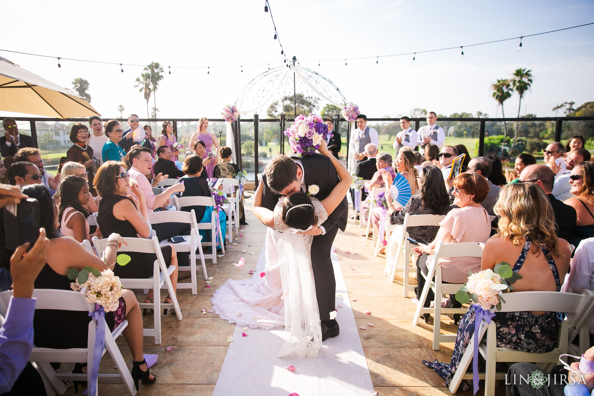 19 seacliff country club huntington beach wedding ceremony photography