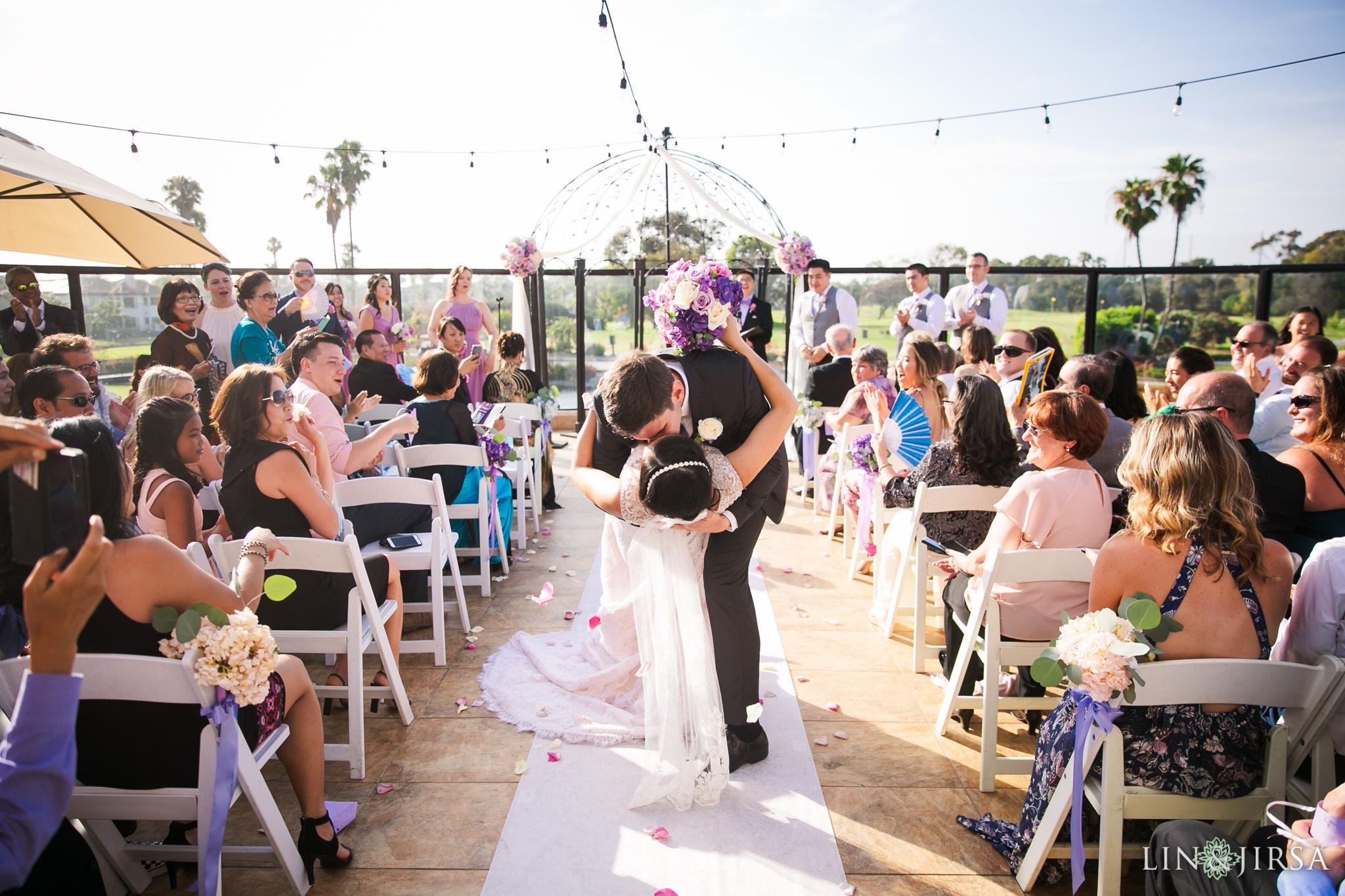 19 seacliff country club huntington beach wedding ceremony photography