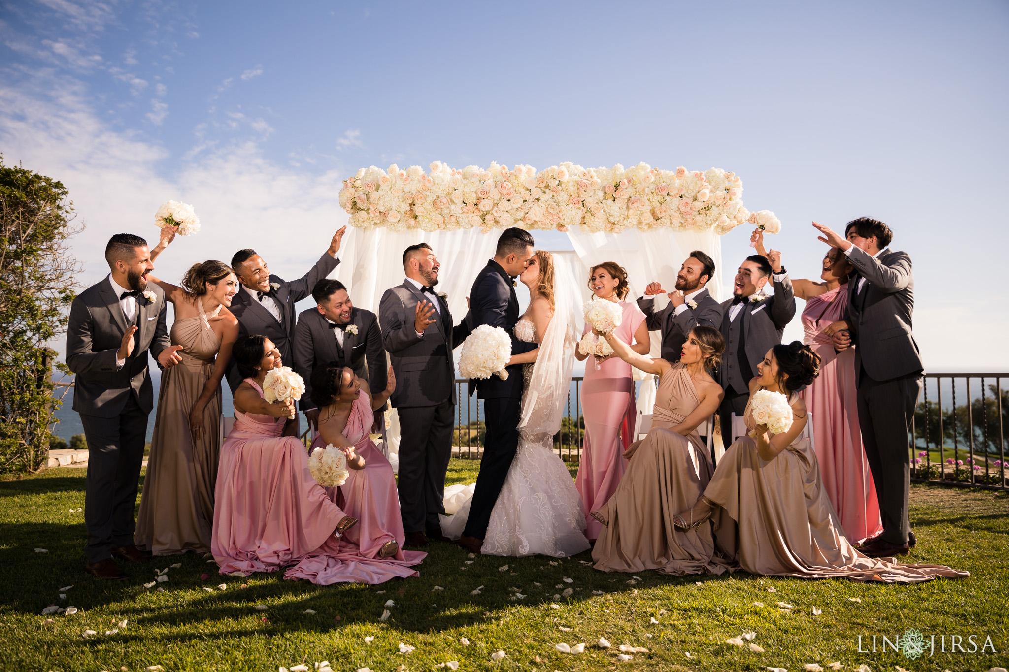 20 trump national golf club palos verdes wedding party photography