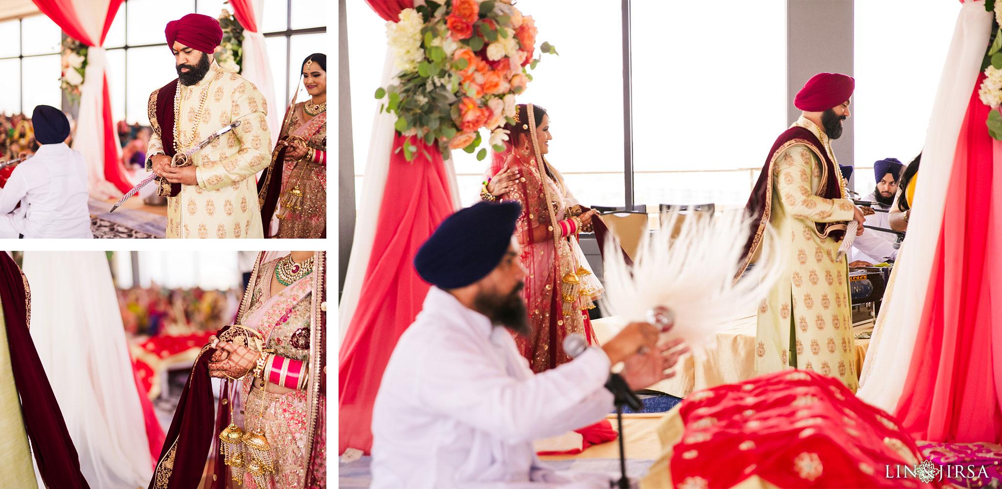 21 marina del rey marriott punjabi sikh ceremony photography