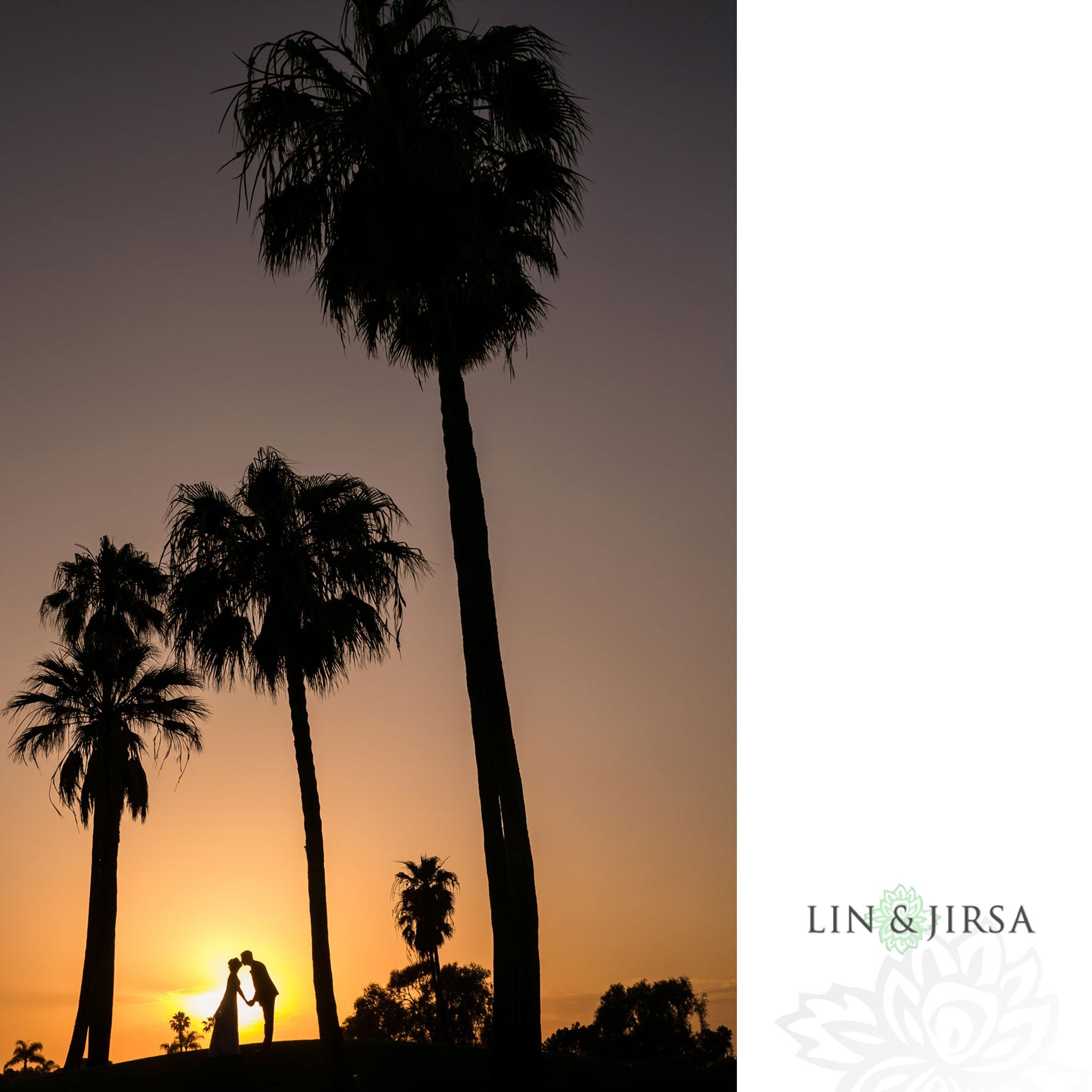 22 seacliff country club huntington beach wedding sunset photographer