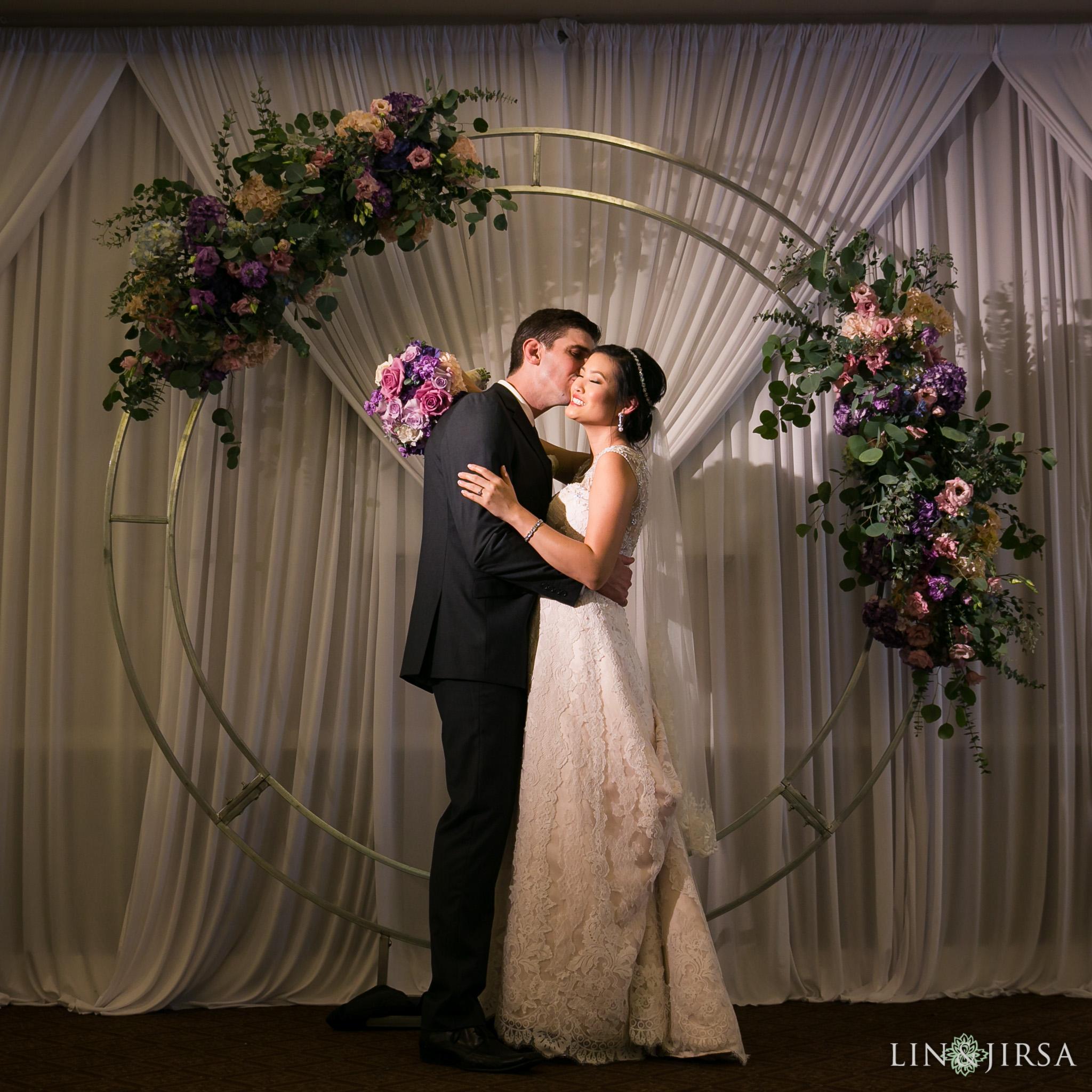 27 seacliff country club huntington beach wedding reception photography