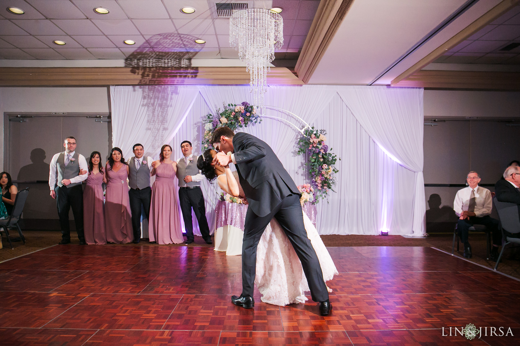 28 seacliff country club huntington beach wedding reception photography