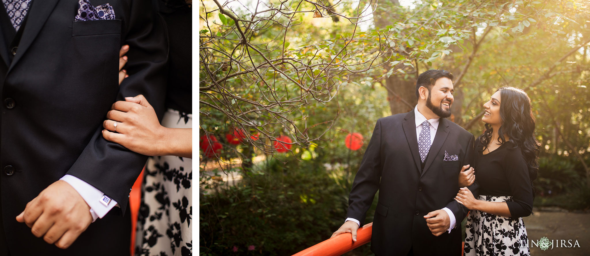 005 descanso gardens los angeles county engagement session
