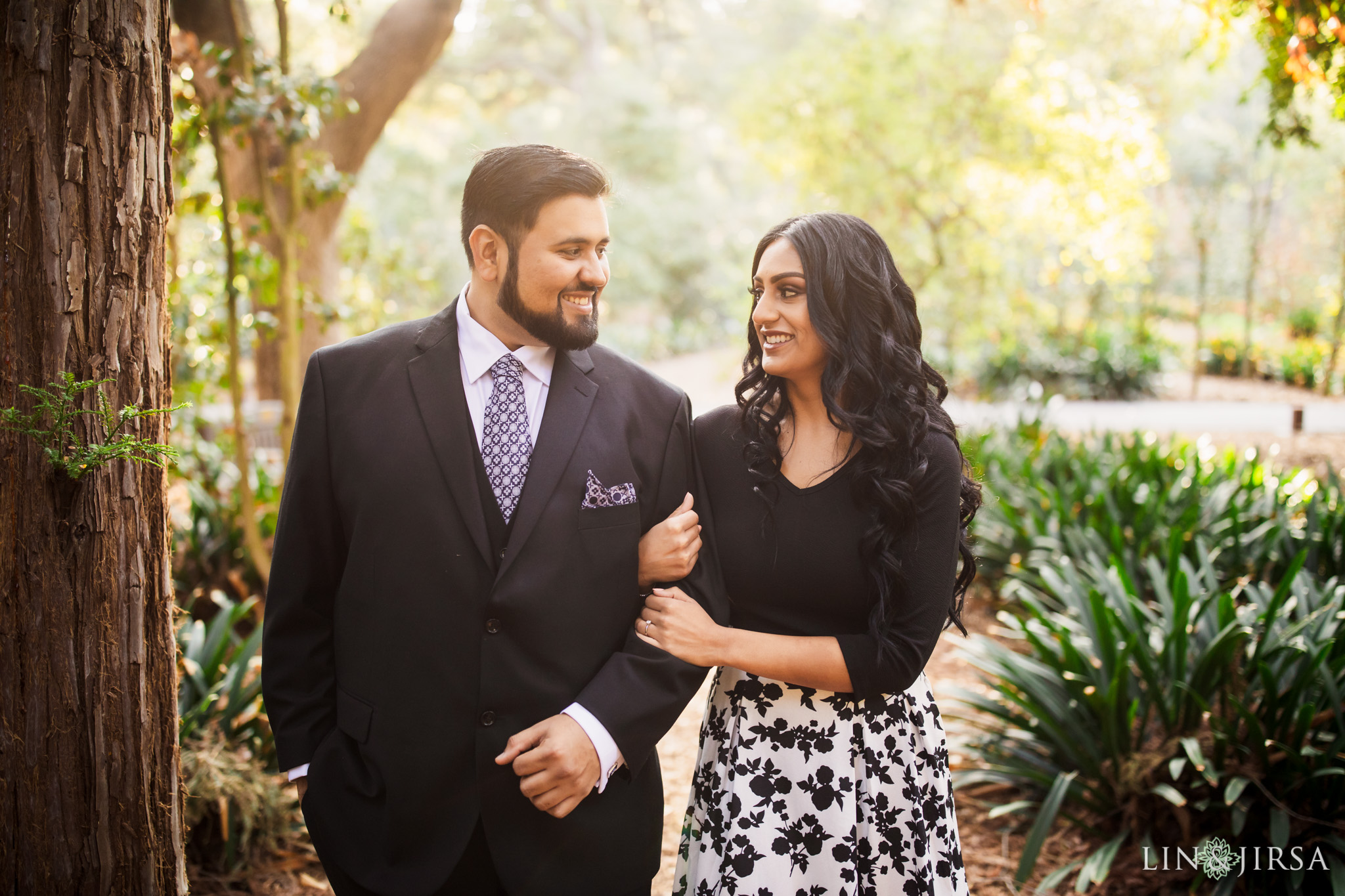 006 descanso gardens los angeles county engagement session